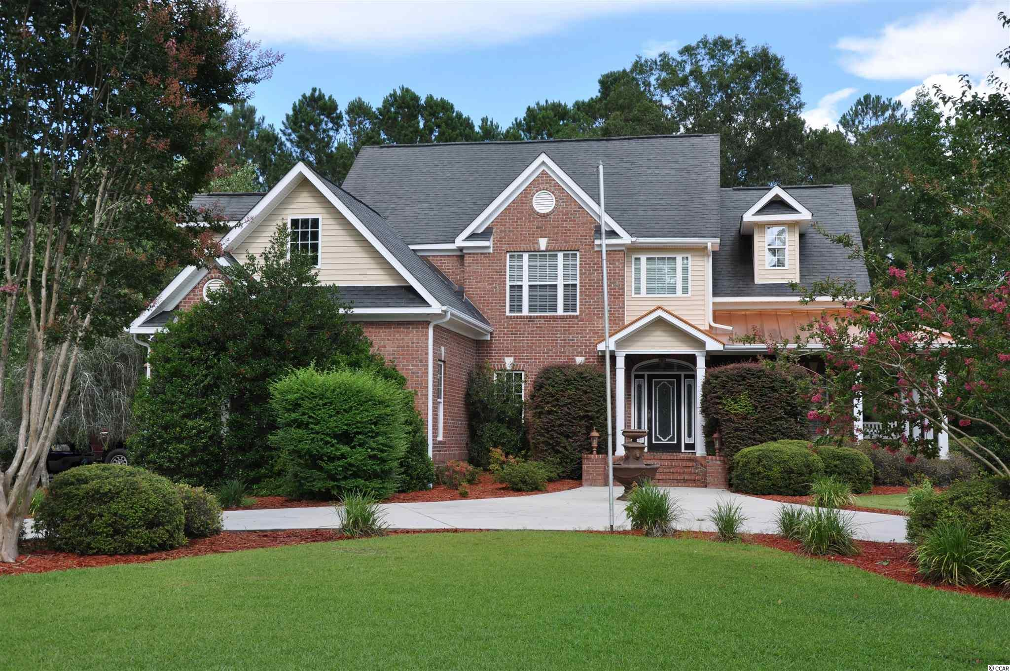 Beautiful spacious, custom built, 5 bedroom 2.5 bath, all-brick home sitting on 1.62 acres in a gorgeous country setting off Hwy 134 in Conway within minutes of Historic Downtown. This home has so many appealing features starting with a circle driveway and an additional side driveway with an oversized 20x28 two car garage. Home has pocket doors and bamboo hardwood floors throughout, 9 foot ceilings and an upstairs 21x20 Family/Recreation room with 11 foot ceilings which can also be an extra large additional bedroom. The kitchen boasts of corian countertops, beautiful backsplash, tons of storage and an additional pantry off of the kitchen near the laundry room.  The master bedroom has a double tray ceiling with accent lighting, plantation shutters, a large master bathroom with a jetted tub, large walk-in shower with dual shower heads and two walk in closets. There is also an additional room off of the Living room which can be used as an office and is plumbed for a wet bar. This 1.62 acre lot provides tons of parking for your boat/RV and vehicles. The spacious backyard is great for outside entertaining with featuring a relaxing covered back porch, a large deck and backyard fire pit that conveys. Such a unique home! Make a showing appointment today.