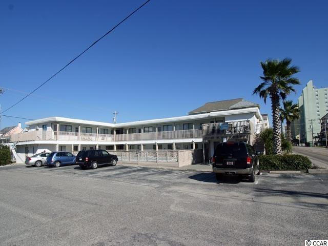 """Located second row across from the beach in Cherry Grove. Private pool just outside the unit. Very nicely decorated. Already an income producer if you're looking for a rental and an Adorable Beach Getaway check this one out...Included with unit: • 50 inch brand new Smart TV in Living room (wall mounted) • 43 inch brand new Smart TV in Bedroom (wall mounted) • Like new Cindy Crawford Sofa Bed with Queen sized          Sealy Posturepedic mattress • New fresh neutral paint throughout • New Curtains • New bedding including mattress cover, pads, quilts, and pillows • New updated decor • Stainless steel appliances, including new microwave and stand • Kitchen fully stocked with all new dishes, silverware, pots and pans. • Turn key for rentals • New Kwickset keyless lock on front door. """"We'll call this one """"A Winner For The Beginner""""...OR """"Adorable Affordable""""...YOU PICK... SELLER WILL LOOK AT ALL OFFERS & DECIDE BY 7PM ON FRIDAY JULY 16"""