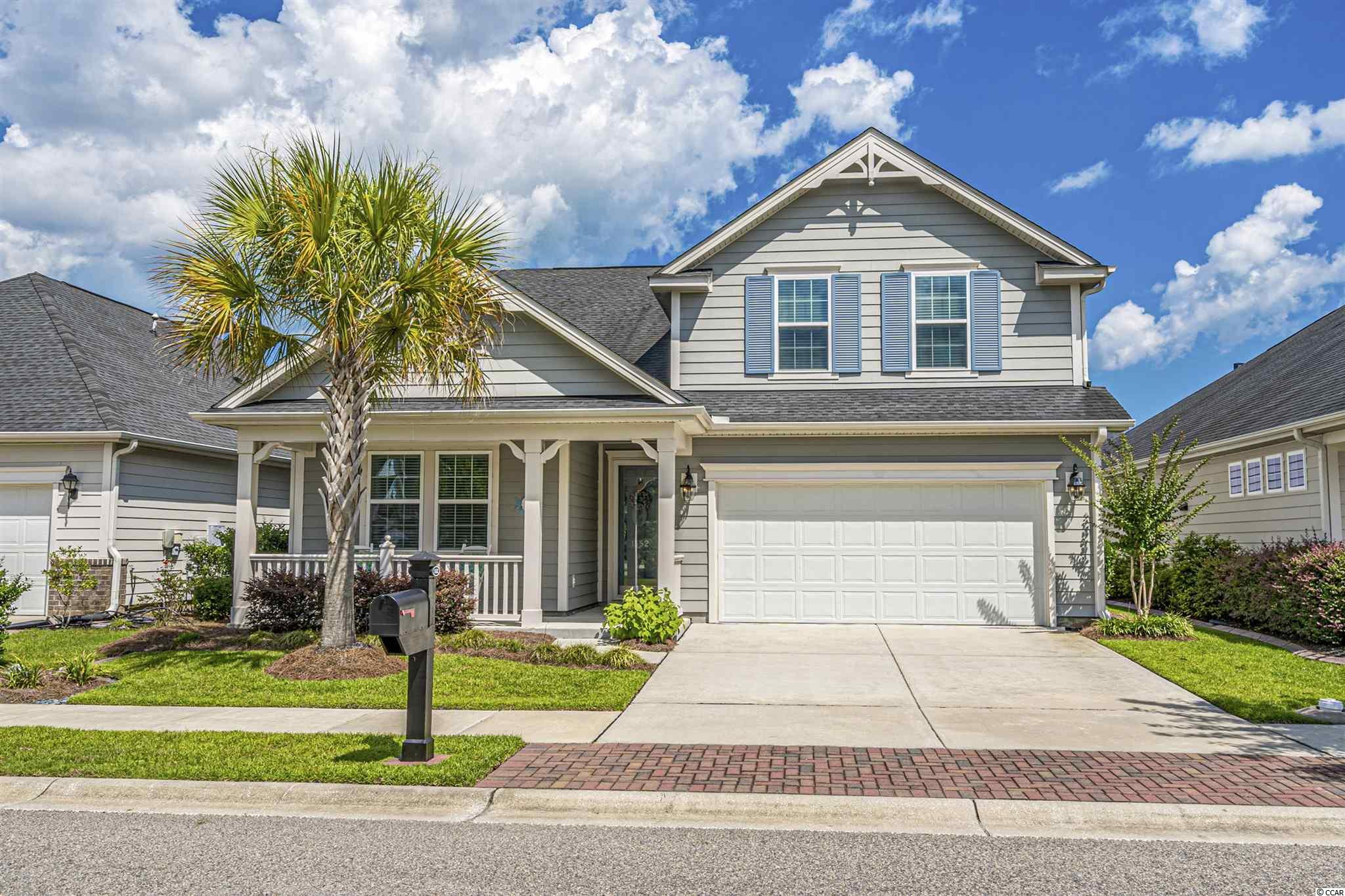 If you are looking to buy the most popular floor plan in the best-selling neighborhood in Myrtle Beach, your search is over! This like new, move-in ready home is located in Market Common, the best address on the Grand Strand. The shops, restaurants, movie theater, grocery store, recreation center, and parks are right down the street. Myrtle Beach State Park and the sandy shores of the Atlantic Ocean and are just a short golf cart ride away. Emmens Park with its outdoor kitchens, fire pits, covered area, putting green and bocce courts is just a short walk down the street, and the resort pool and amenity complex with the new clubhouse is only a few blocks away.  Best of all, you will be living in a neighborhood with a real sense of community and fellowship. Call today for more information, and see this home before a great opportunity slips away.  Bonus room is being used as 4th bedroom.  It has a walk-in closet, and a full bath, but no door to stairway.  Owners want to lease the property back until April 30, 2022.