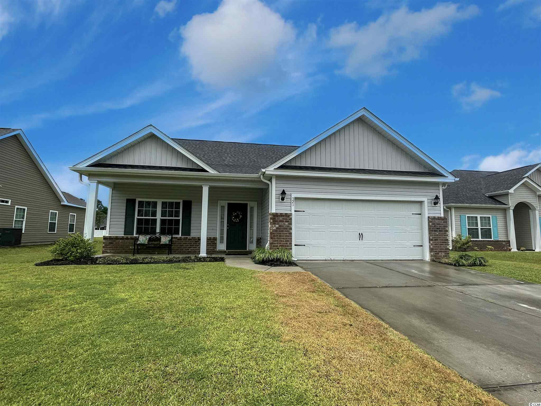Welcome to Barons Bluff North, a natural gas community! And lets talk about location! Just minutes from International, Hwy 22 and Hwy 31. Built in 2016, this home comes standard with natural gas and a tankless water heater. This home offers a spacious open floor plan. The kitchen is open with a breakfast bar.  The covered patio is ideal for relaxing, sipping on a beverage of choice. The back yard is fenced perfect for pets. Its just a short stroll to the pool. Schedule a showing time today!