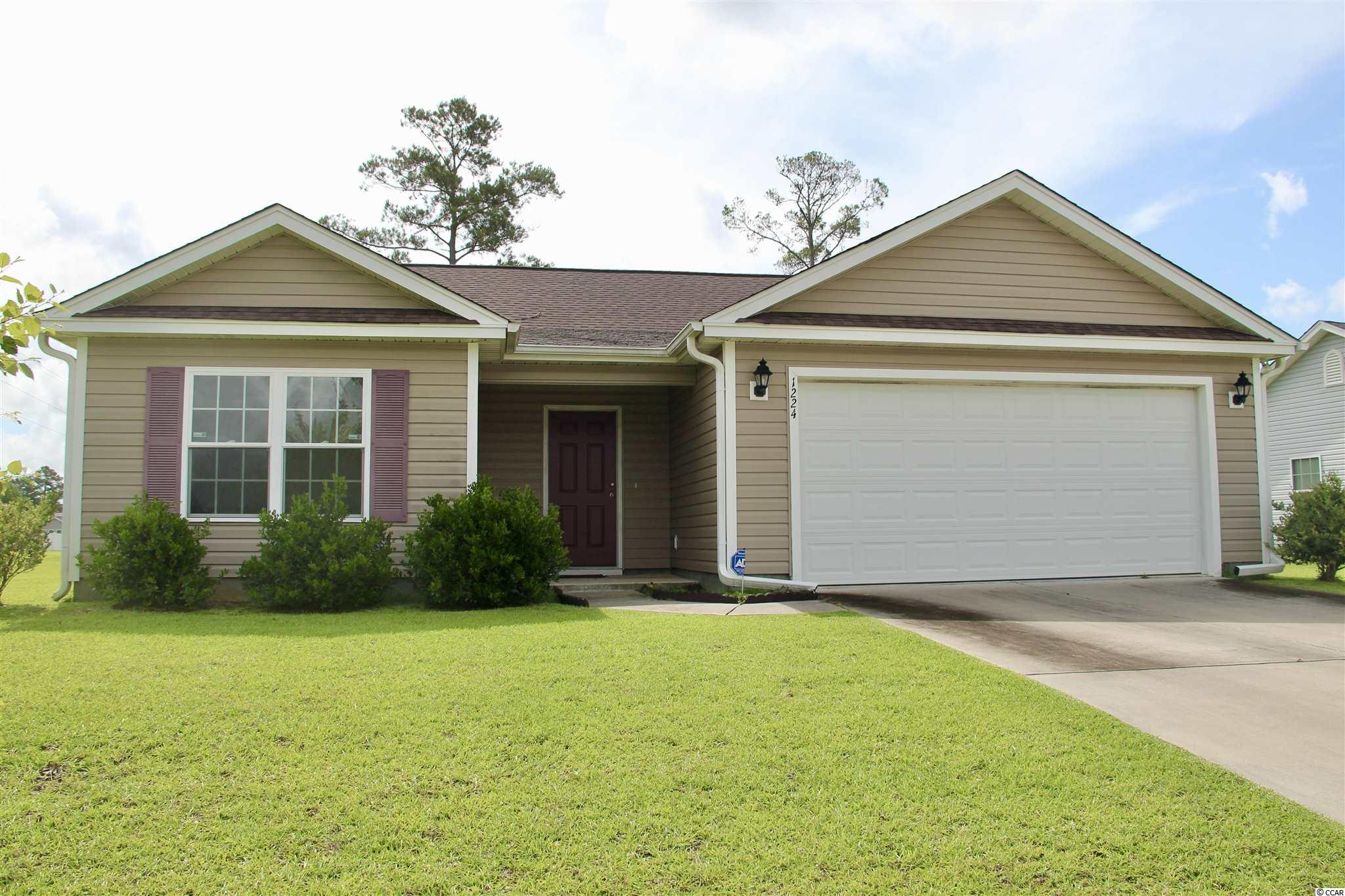 This beautiful 3 bed 2 bath home is located within minutes of downtown Conway and is just a short drive to the beach. With NO HOA you have the freedom to make this home your own inside and out without the hassle of rules and regulations. With a spacious back yard, you'll have plenty of room for outdoor entertainment, parking your boat or RV, and space for the 4 legged furry friends. The open floor plan concepts is always flooded with plenty of natural light and has an inviting appeal. This home wont last long so don't hesitate, schedule a showing today.