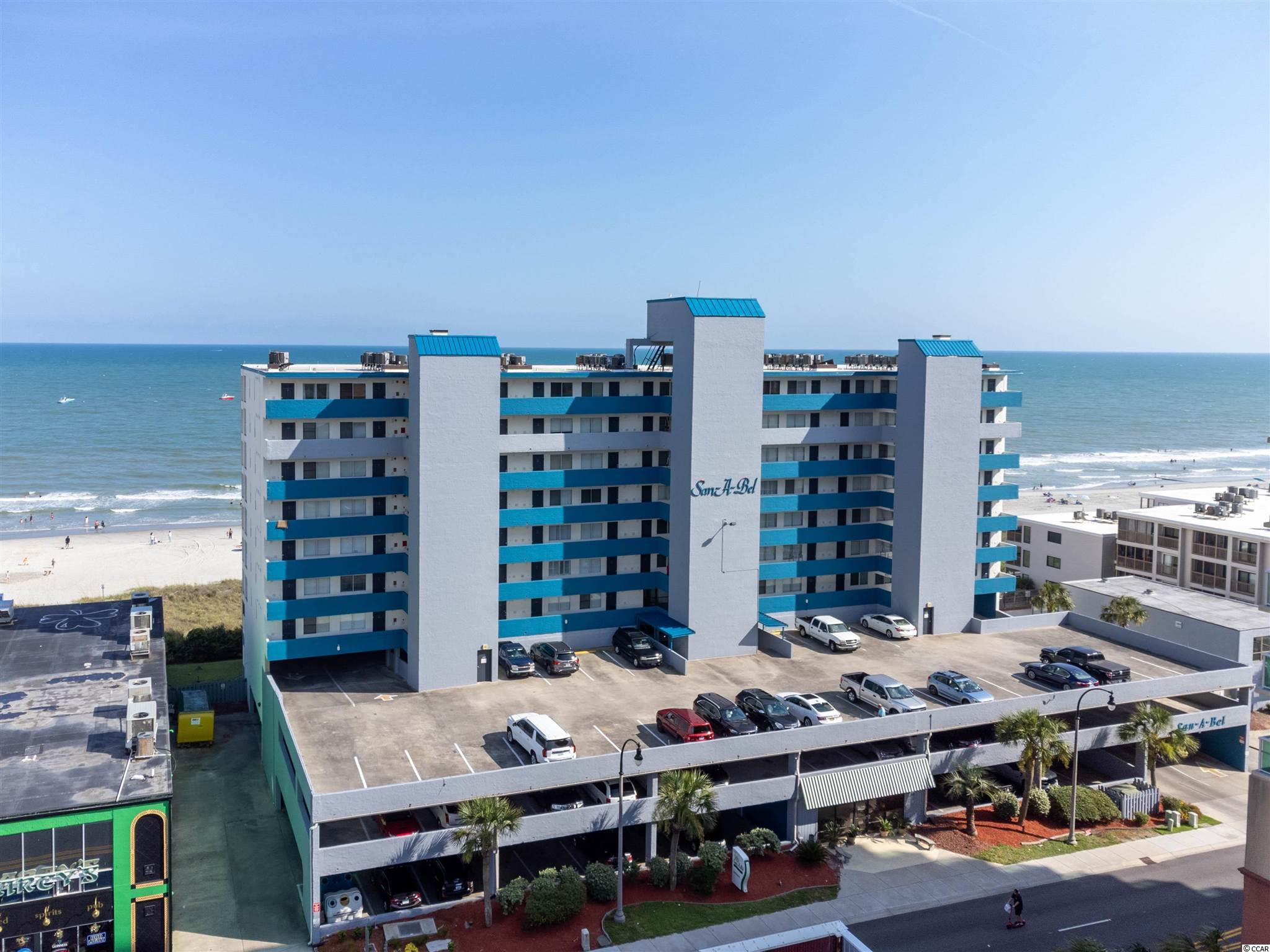 Direct Ocean Front... North Myrtle Beach... Crescent Beach Section... Spectacular 2 Bedroom 2 Bath Direct Ocean Front Unit Located in Well Sought after San-A-Bel Towers Ocean Front Resort... Enter this Nicely Maintained Unit Greeted by Upgraded Flowing Tile Floors...  Each Bedroom Offers a Private Full Bath with the Ocean Front Master Bedroom Overlooking the Great Atlantic Ocean...  Large Balcony with Direct Views of the Ocean, Surf, and Sandy Beaches... Fully Furnished includes all Appliances, Furniture, Decor, Kitchenware, Window Treatments and Newer A/C Unit... San-A-Bel Towers Features Swimming Pool, Hot Tub and Workout Facility...  Close to Shoppes, Dining, Sports Grills, Fishing, Golf, Inlet, Marinas, Barefoot Resort, Entertainment, Restaurants, Casino Boats, Outlets, Malls, Little River Intra Coastal Waterway (ICW) Water Front and Most Spectacular White Sandy Blue Water Ocean Beaches of the Grand Strand... Your Time Has Come!