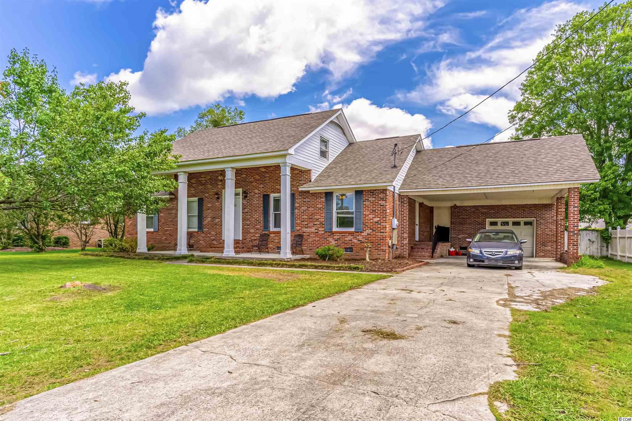 Great curb appeal. Large home with large fenced in yard. Open kitchen and living and dining room space. Very large bonus room/5th bedroom upstairs. This home needs some very minor work - paint and cosmetic touches and it will be absolutely beautiful! Great location, great yard, great layout.