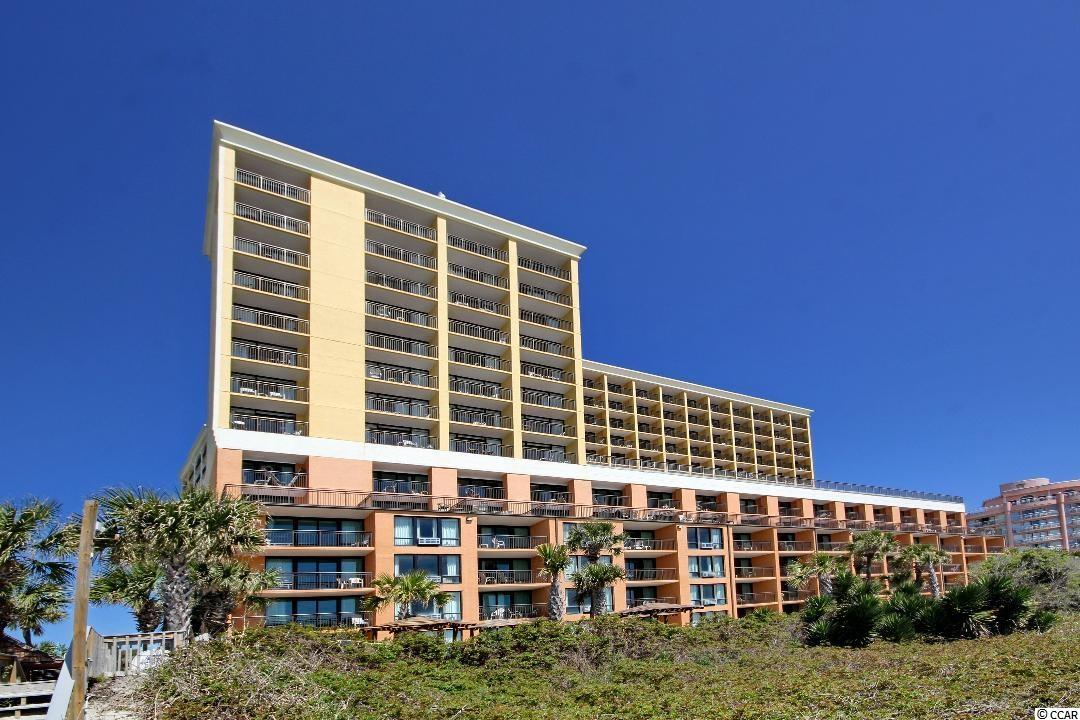This unit was redone from the steal studs out in 2018. Everything in this unit is 3 years old or newer. This is a direct ocean front 1 br. 1 ba. with a gorgeous ocean front view. An added plus is being an end unit in the building as well. Beautifully furnished with a king bed, Murphy bed, and sleeper sofa. Plenty of room for vacation rentals, or second home. Wood look water proof commercial grade Flooring in living area. This unit is a must see. Caravelle Resort offers indoor pool on 7th floor, outdoor pools, lazy rivers, Jacuzzis, Tiki Hut, 2 multi level parking garages, Huge ocean front deck on the 7th floor, and the beautiful beach and ocean. Call today to see before this like new unit sales away!!!