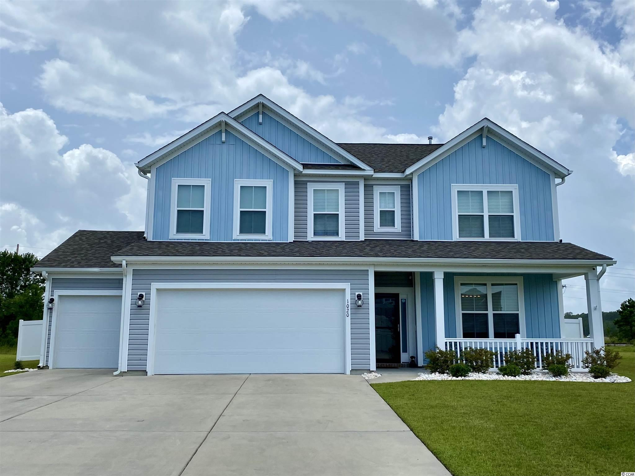 Stunning 4BD/3.5BA Two Story Home w/3 CAR GARAGE!! on Spacious Lot in Fantastic Natural Gas Community of Bella Vita!!  Home Built in 2018, 3 Yrs. Young & Shows Like New! Fantastic Floorplan! Perfect for Entertaining! Gorgeous Open Kitchen with Large Work Island & Breakfast Bar, Breakfast Nook, Granite Countertops, All Stainless Steel Appliances w/Gas Range, Pantry, Extensive Cabinet & Countertop Space! Spacious Great Room w/Gas Fireplace, Smooth Ceilings & Vinyl Plank Flooring! Beautiful Screened In Porch w/Large Grilling Patio in Completely Fenced in Back Yard!! All Bedrooms, Laundry & Additional Living Space are Located on the Second Floor. Spacious Master Suite w/Barn Door Bath Entry, His & Her Sinks, Custom Tiled Walk In Shower and Sizeable Walk In Closet. Other Extras Include: Utility Sink In Garage, 50amp & 30amp Hookup for RV's, Back feed for Generator, Security System w/Cameras, Additional Under Stair Storage, All Appliances Including Washer & Dryer Convey. Bella Vita is located minutes to shopping, entertainment, restaurants, and the beach! Pedestrian & Bike Friendly Neighborhood w/Sidewalks Throughout! On-site Amenity Center features gym, kitchen, double-sided stone fireplace, game room & outdoor pool!