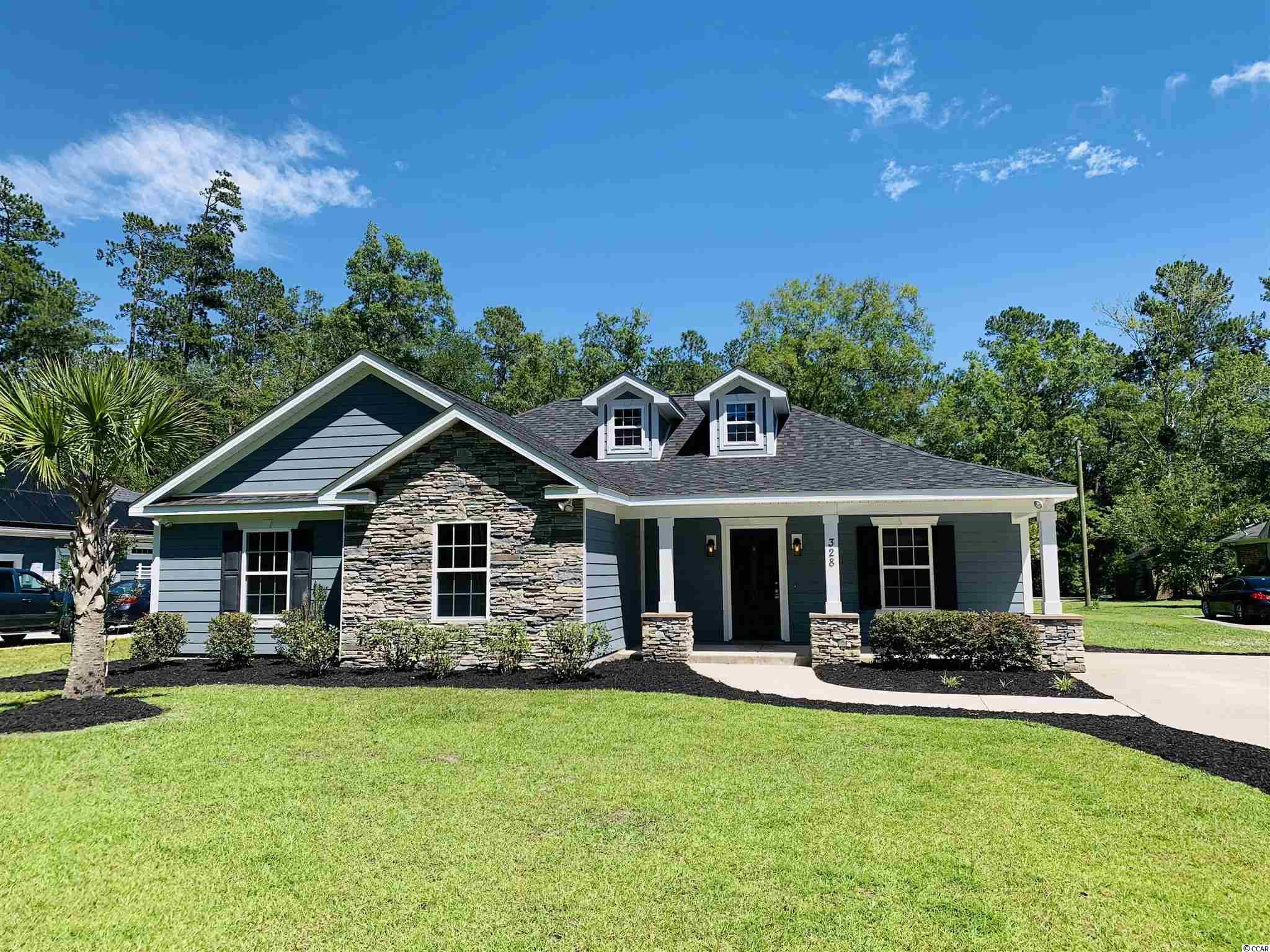 Amazing custom built home on large lot in desirable Maple section of Conway with NO HOA!!!  3 bedroom and 2 bath home with an office. Brand new LVT flooring throughout, stainless steel appliances, and granite countertops.  .88 acre lot with no HOA make this a must see!!