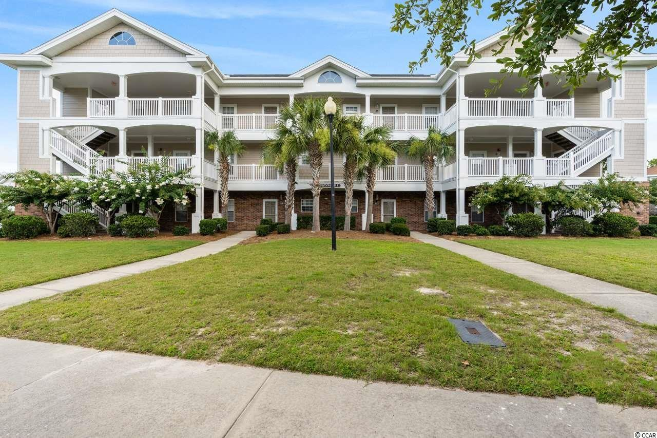 Great opportunity to own a second floor, 2 bedroom, 2 bathroom condo located in Ironwood at Barefoot Resort. This bright and airy condo features a spacious & fully equipped kitchen, two generously sized bedrooms and ceiling fans throughout. The master bedroom has a walk-in closet and an ensuite bathroom. The second bedroom has plenty of closet space and has access to a full-size bathroom for more privacy. The washer and dryer are located in the unit for more convenience. The private balcony will allow you to enjoy your morning coffee or evening cocktail! This condo also has an attached outdoor storage closet. Along with this fantastic unit, Ironwood has its own pool, tennis, basketball & volleyball courts, use of Barefoot's own oceanfront cabana with a shuttle service to/from during the season, along with a private parking lot and use of all of Barefoot Resort's amazing amenities including 4 signature golf courses, 2 world-class clubhouses, driving range, Greg Norman Golf Academy, restaurants & a marina! Barefoot Resort is located in beautiful North Myrtle Beach close to all of the shopping, dining, entertainment & excitement that the beach has to offer. A perfect choice for a primary home, secondary home, or rental potential. Don't miss this opportunity and schedule your showing today!