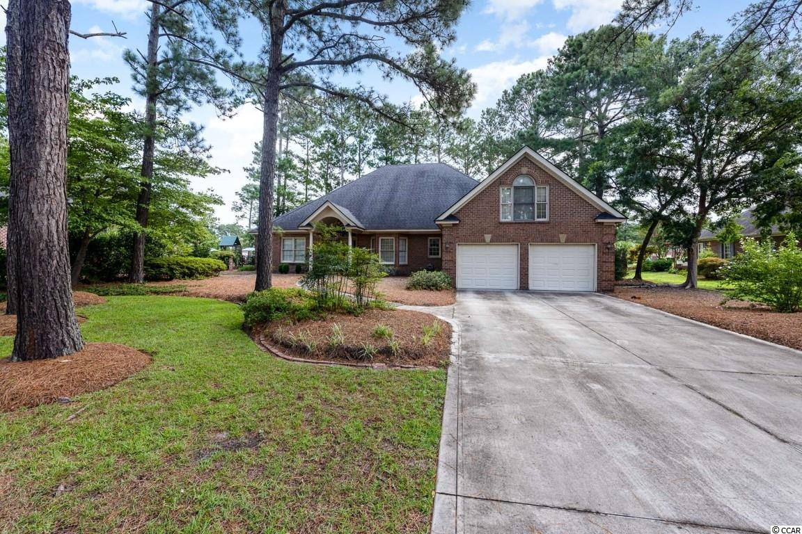 Welcome home to this 4 bedroom, 2 bathroom home in the highly sought after community, Forest Lakes in Conway. This single level home features tall ceilings throughout with a spacious living room combined with the formal dining area, and a full kitchen equipped with all appliances. The kitchen offers an abundance of cabinet and counter space with two pantries for extra storage, and a breakfast bar leading into the back den with a beautiful brick fireplace as a main focal point. Each bedroom offers a ceiling fan, plenty of closet space, and easy access to a bathroom, while the master also features an oversized garden tub and walk in shower. A bonus room above the garage can be an added sleeping space, playroom, home office, you name it! You will have plenty of room for storage in this home with several extra closets, an attic that you can fully stand up and move around in, and an attached two car garage. Enjoy afternoons on your screened in back porch with a view of the pond, or at the many area attractions just a short drive away! Perfectly situated close to all of the Grand Strand's famous dining, shopping, golf, and entertainment attractions, and just a short drive to the beach. You won't want to miss this. Schedule your showing today!