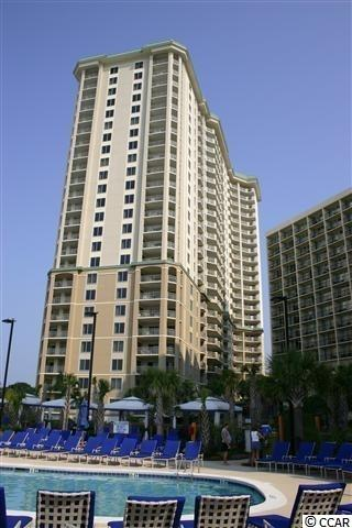 WHAT A VIEW from this direct oceanfront luxury 24 story high rise!  This oceanfront three bedroom, three bath residence has the popular lock-out feature allowing the flexibility of it being used as a one and a two bedroom or as a three bedroom.  Kitchen and baths have custom cabinets and granite counter tops, stainless steel appliances, large open floor plan with over 2,000 heated square feet.  Large master suite that steps off to the oceanfront balcony, walk-in closet, master bath walk-in shower and jacuzzi tub.  Sold fully furnished  Royale Palms is connected by an indoor breezeway to the Hilton Myrtle Beach Resort. Owners can enjoy Hilton amenities, as well as some of the conveniences at neighboring Kingston Resorts which is a 145 acre gated community.  Kingston offers a combination of amenities and preserved natural environment that is not replicated in our area. Enjoy one half mile of oceanfront sandy beaches, 12 acres of freshwater lakes and mature and manicured landscaping. Resort amenities include many swimming pools, an oceanfront hotel with offerings such as Starbucks, pool bars and fine dining choices. Enjoy tennis & pickle ball at the brand new fitness center and spa when you join the Kingston Fitness Center.  Children's playground, walking trails and beach volleyball courts are also found throughout Kingston. The entire community experience is ideally located between Myrtle Beach and North Myrtle Beach with shopping, dining and entertainment only a short drive away. This Royale Palms unit would be great as a primary residence, second home or rental option.
