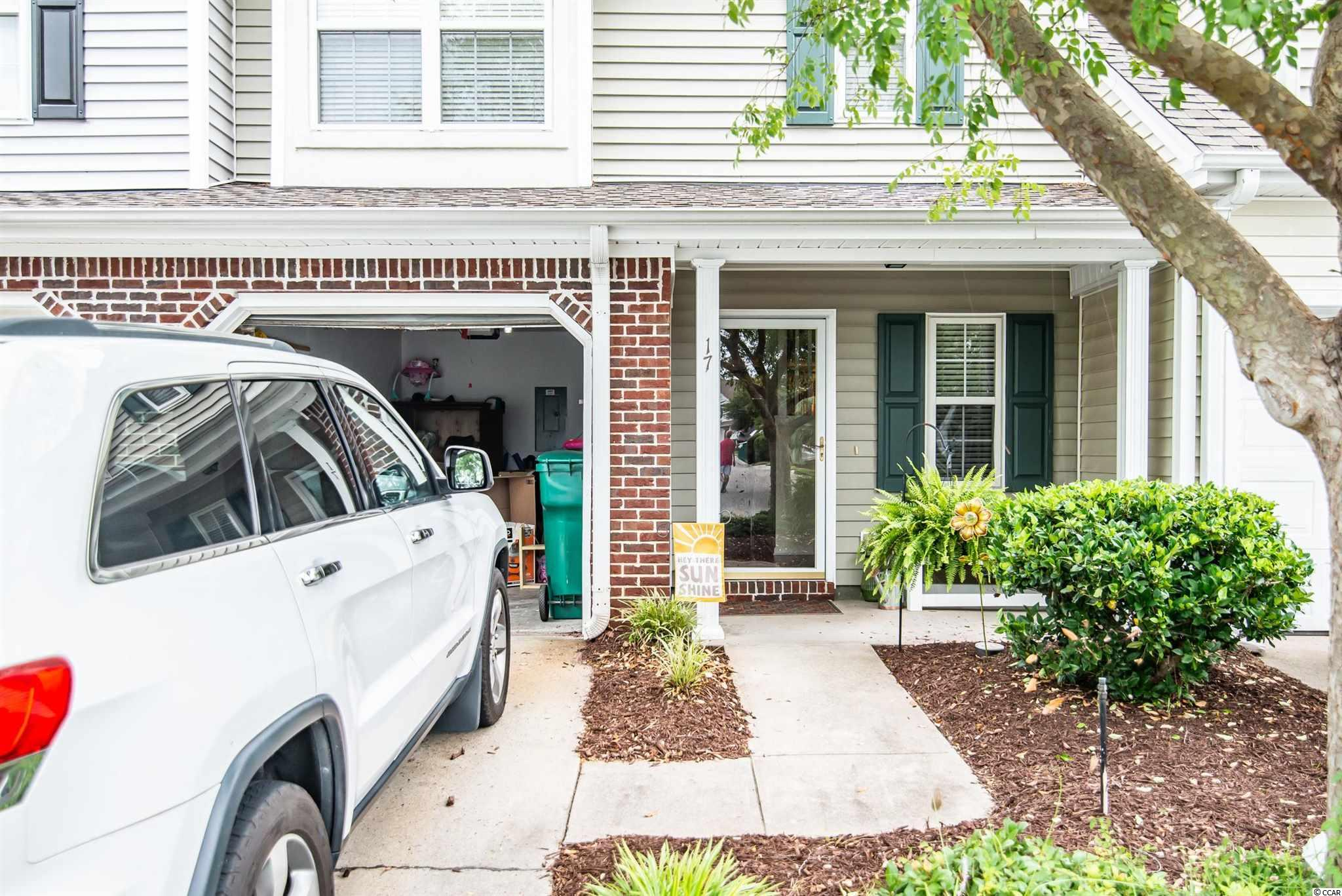 Two bedroom/2.5 bath townhouse located in Pawleys Place.  This unit features great location in the heart of Pawleys Island in a quiet community that features pool and lovely pond.  One car garage as well as screen in back porch and small front porch. This unit is being sold unfurnished.