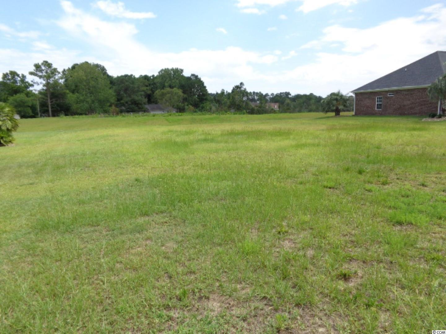 Location! Location!  THIS OVERSIZED LOT LOCATED JUST ACROSS THE STREET FROM THE ICW IS WAITING FOR YOU TO COME AND BUILD YOUR DREAM HOME. SITUATED IN THE CORAL LANDING DEVELOPMENT IN THE HEART OF NORTH MYRTLE BEACH. Measurements are approximate and not guaranteed. Buyer responsible for verification.