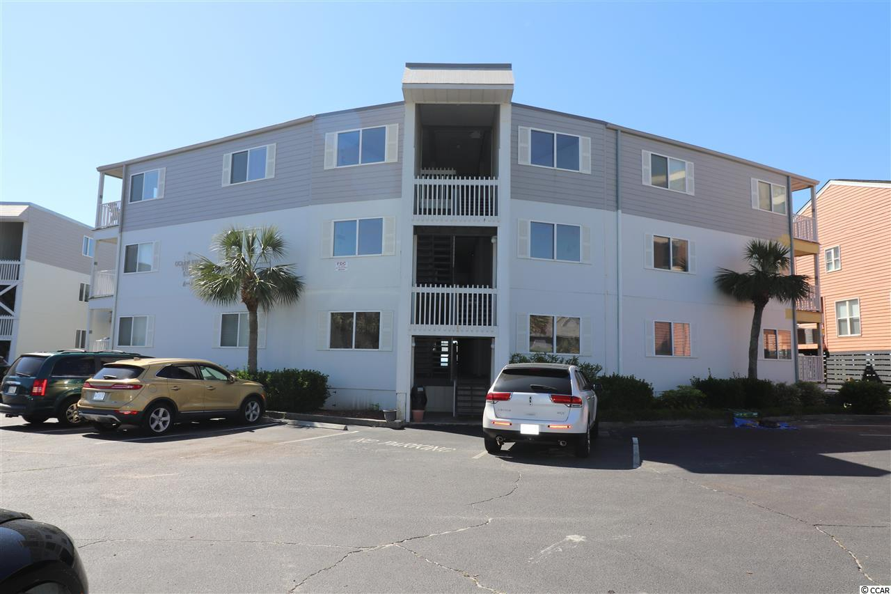 Oceanfront paradise right on The Point in Cherry Grove! Beautiful view of the ocean and the pool deck. Second floor unit in one of the most desired and hard-to-find-available ocean-front complexes in North Myrtle Beach. Large , uncrowded beach even at high tide.  Sold furnished (with limited exclusions for personal items).  New HVAC in 2016. Ready for you to just bring your flip flops and bathing suit and enjoy.  Come enjoy the ocean-front pool. Front deck and pool area allow a level of intimacy with the ocean that's unmatched anywhere else in North Myrtle. Enjoy a gated parking lot and gated access to the pool and ocean-front deck area for your privacy. HOA dues include private wireless,  basic cable and water/sewer. Some rentals in July and August and those rentals will transfer to the new owner.