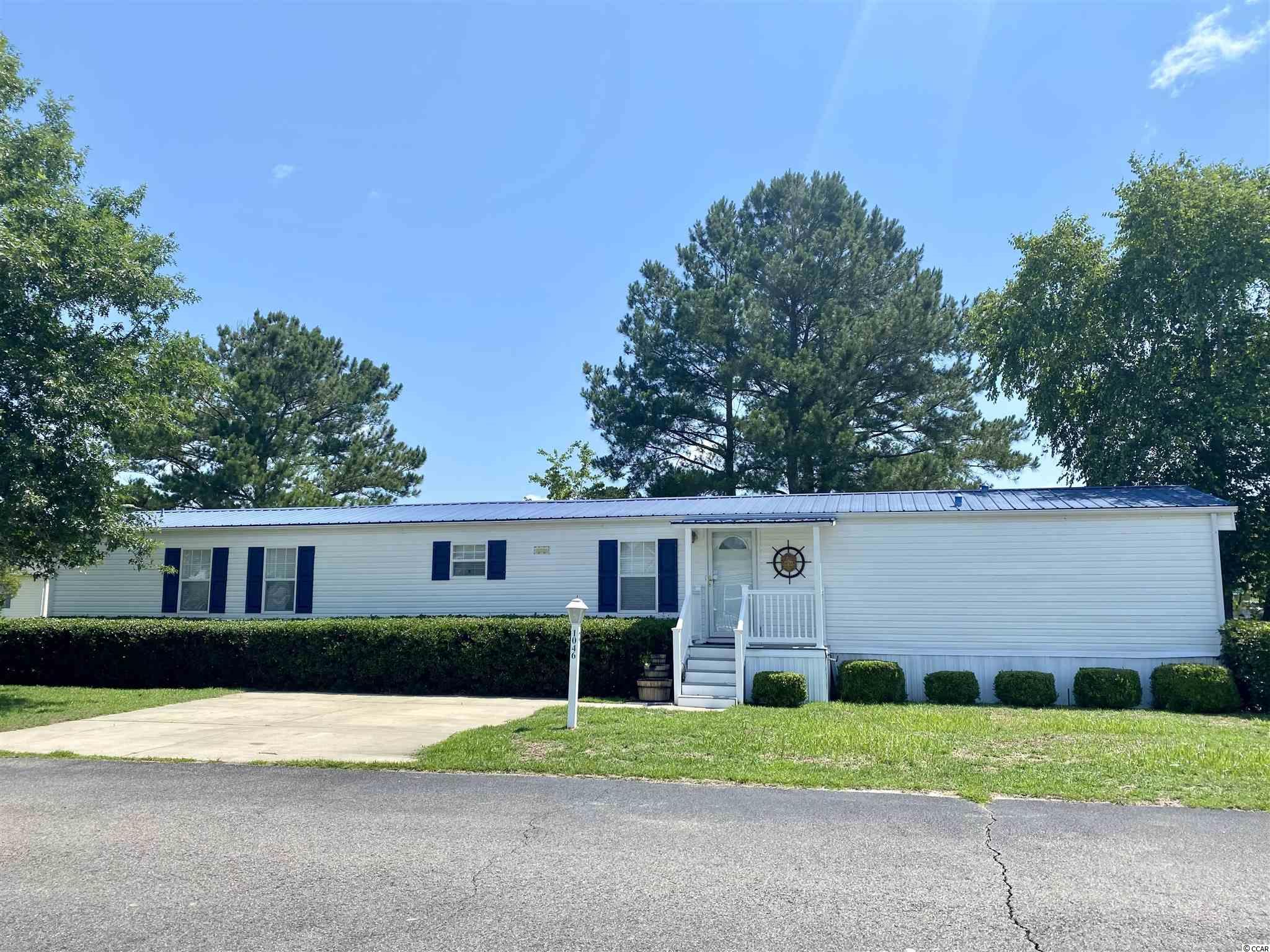 Great value for this turn key 3 bedroom / 2 bath single wide priced to sell in Conway Plantation!  Enjoy neutral colors, open floor plan, split bedroom plan, walk in closet in master, great exterior deck, exterior storage and more! Don't Delay!