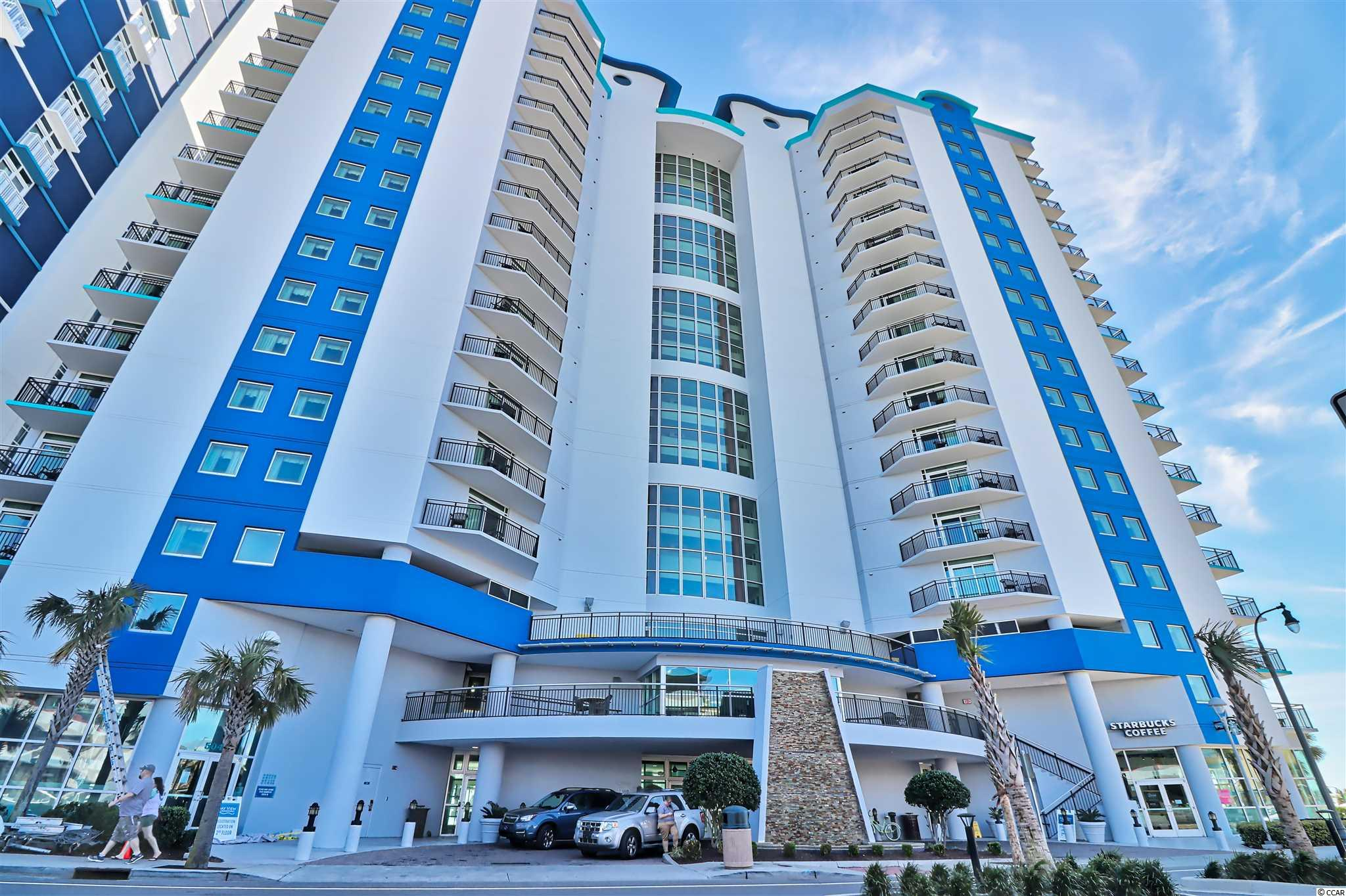 Beautiful 1 bed/1bath condo with ocean view balcony. Located at the heart of Myrtle Beach, a short walk to the boardwalk, and many major attractions such as Ripley's Believe It or Not! and Sky Wheel. Bay View Resort has indoor and outdoor pool, fully equipped gym, and a Starbuck on site.   Gross Rental income 2015: $36,161, 2016: $38,528, 2017: $40,028, 2018:$28,169, 2019: $29,888, 2020:$18,730, 2021 up to June: $16,000