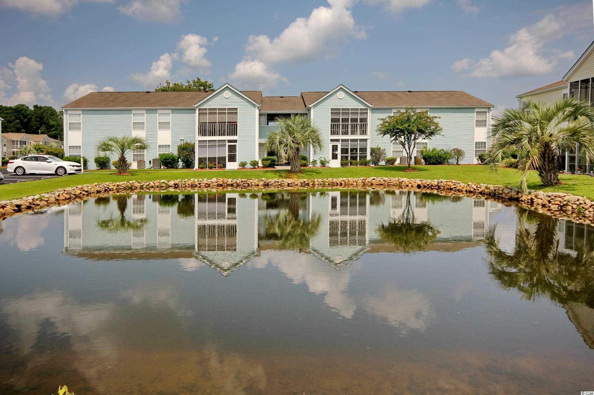 This condo is located in the popular South Bay Lakes community. 3 bedroom/2 bath with a beautiful screened in porch that overlooks the pond. This condo provides you close proximity to all the attractions and amenities of Myrtle Beach, with fine dining, wonderful world-class entertainment, fishing piers, and exciting shopping experiences on the Grand Strand.