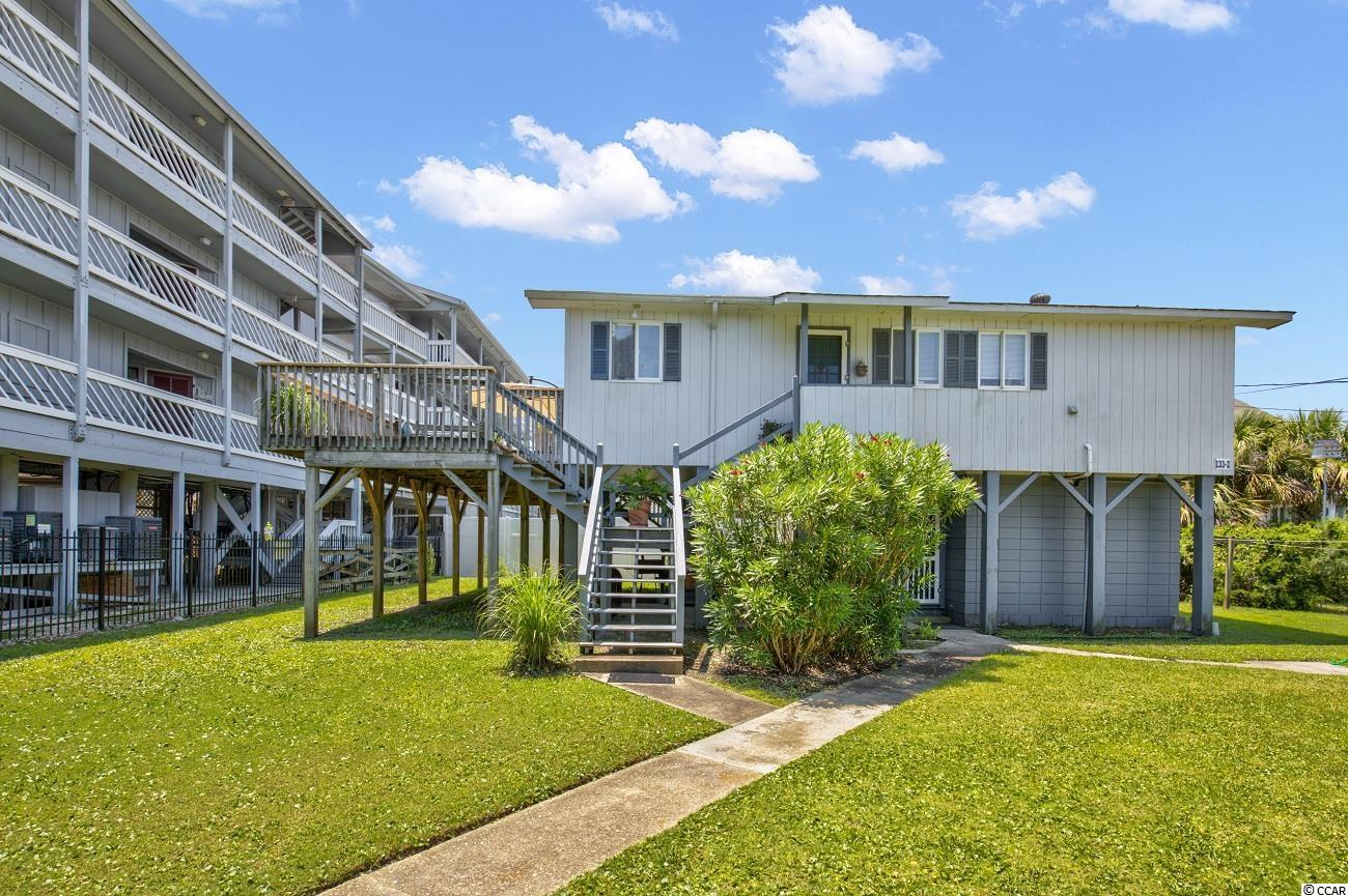 A unique opportunity to purchase a property like this. The property consists of two raised beach style homes with a total of four units. Each has its own electric meter. Could be an Air BnB gold mine with the proper upgrades and marketing! Steps to the ocean and just a few blocks to the pier. Come experience Garden City as it was and I promise you will love it!