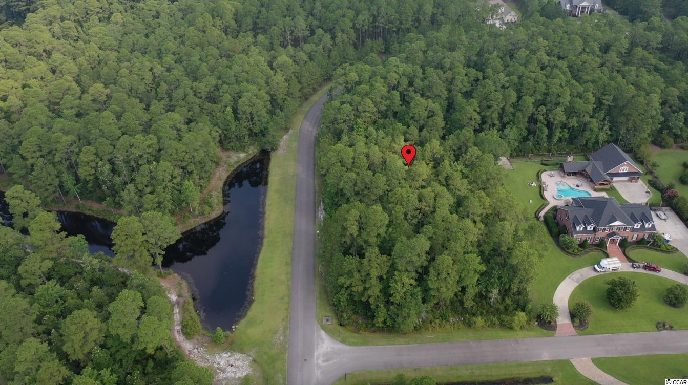 Introducing this peaceful 1.80 acre corner lot, positioned in the attractive & gated Black Creek Plantation community. Come build your forever dream home with no time table to build and a minimum square footage of 2,200 square feet homes. This neighborhood allows for horses, stables, and offers delightful riding trails parallel to the Lewis Ocean Bay Wildlife Trust. Black Creek Plantation has over 250 acres and will have less than 60 homesites. This lot affords you easy access to the beach and golfing along with all of the other activities and happenings in Myrtle Beach including fun eateries, award winning off-Broadway shows, public fishing piers, and intriguing shopping adventures along the Grand Strand. Conveniently located to your everyday needs, including grocery stores, banks, post offices, medical centers, doctors' offices, and pharmacies.