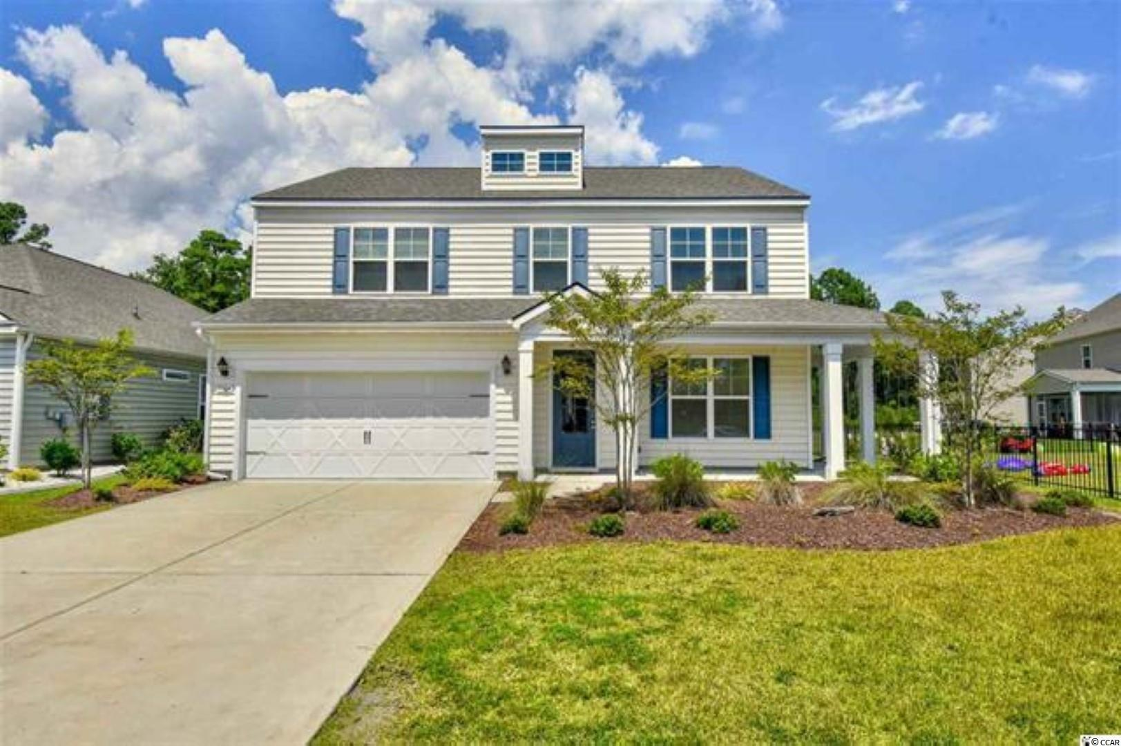 Come check this 5 bed 3.5 bath home in the convenient and friendly neighborhood of The Farm. This recently built home is located at a quit cul-de-sac offering you peace and quiet. This home includes everything you've been looking for, from a large kitchen to a living, combined and separate dining and a Carolina room. The kitchen features one of the largest islands, stainless steel appliances and endless cabinetry. Need more space for your work or family, check out the upstairs with 4 bedrooms and a very large loft for whatever your needs may be. Located in one of the largest lots, this house offers plenty of back yard and backs up to the woods to give you even more privacy. This home is within minutes from everything Myrtle Beach has to offer and now the International Drive is open, within minutes from Conway. Enjoy the convenience of being within 10 minutes from the beach, world class golf, shopping, dining and entertainment. Priced to sell, schedule your showing today.