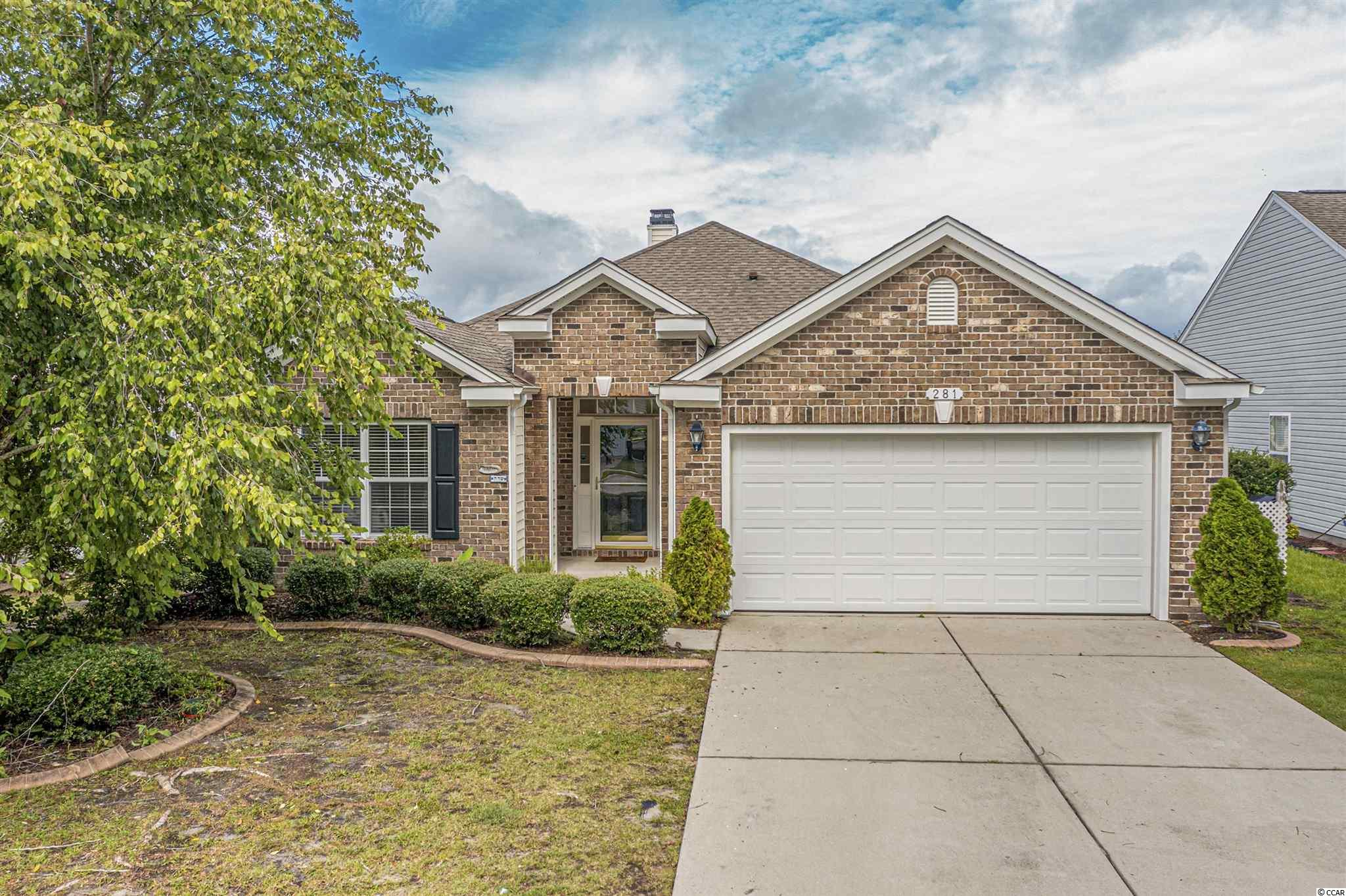 A must see, beautiful and well maintained 3 bedroom and 2 baths home located at the desirable community of The Farm at Carolina Forest. The home offers a single level open floor plan concept. The common area includes a welcoming foyer,  a large living room, a formal dining room and a breakfast nook. The specious kitchen offers plenty of cabinets and great counter space, a pantry, granite counter tops, custom backsplash, wine cooler, and would be perfect for cooking and entertaining. The elegant master bedroom offers tray ceilings, a large walk-in closet, a specious master bathroom with a custom tiled shower and a double sink vanity. Enjoy the many upgrades this property offers:  beautiful LVP flooring, fireplace, crown molding, an extra large screened-in back porch, new water heater (8/13/21) and more. The split floor plan allows for privacy and is great for family and guests. The amazing community of The Farm includes a fully furnished clubhouse with a fully equipped kitchen, a basketball court, a play ground, and a luxurious community pool area and an additional pool on a second location within the community.