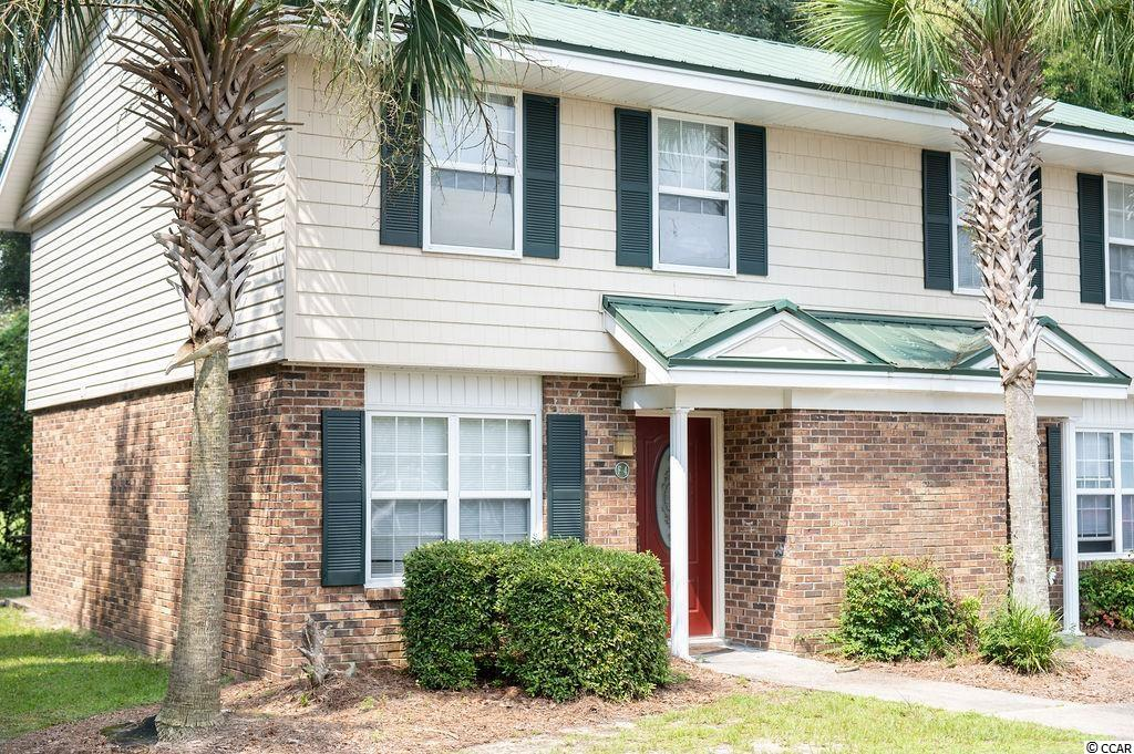 Don't miss out on this amazing opportunity one mile from Coastal Carolina University. This 2 bedroom 2.5 bath townhome is close to restaurants, shopping, sporting events, and a quick drive to beautiful historic downtown Conway. Only 10 miles to the beach. This is an end unit with a private back patio, beautiful new laminate flooring, and a spacious kitchen.