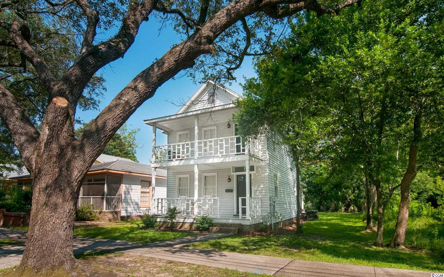 This charming home close to downtown Georgetown is perfect for a starter home or your getaway to Georgetown.  It has done well as a VRBO rental as well. Georgetown host lots of great shopping and Riverfront dining.  The coolest little fishing village is just a few blocks away.