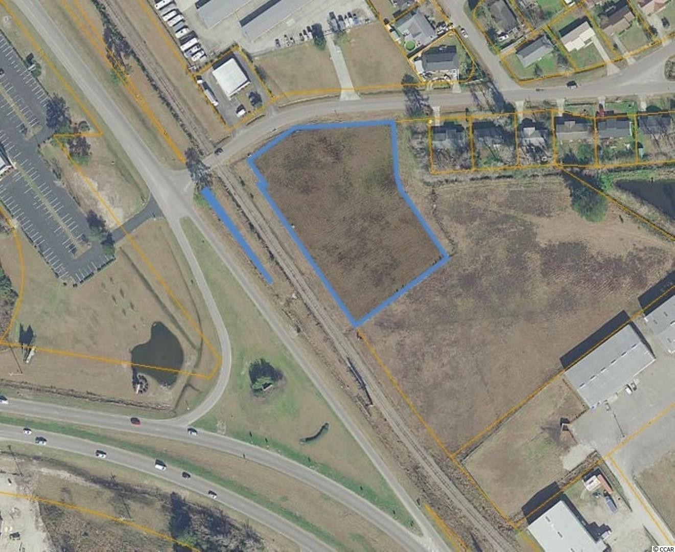 Cleared commercial lot in a prime, high traffic location at the corner of Hwy 501 Business and University Forest Dr.