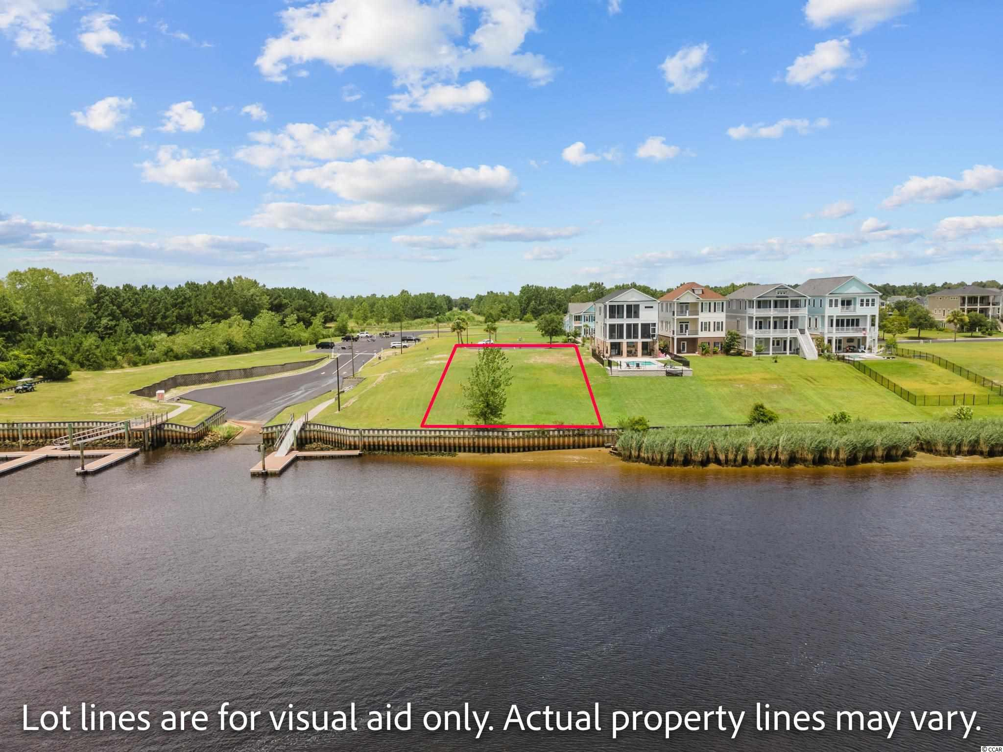 Build your dream home and enjoy waterway living at its best! Wake up every morning with beautiful views of the waterway and sail boats passing by. This lot is the last lot in the neighborhood, so you will have unobstructed south views and easy access to the neighborhood boat ramp and extra parking.  No time frame to build and bring your own builder. Waterway Palms Plantation is one of Myrtle Beach's premier waterway communities offering resort style amenities, planned neighborhood activities for kids, adults and the whole family. Waterway Palms is located in Carolina Forest, one of the best school systems in Horry County.