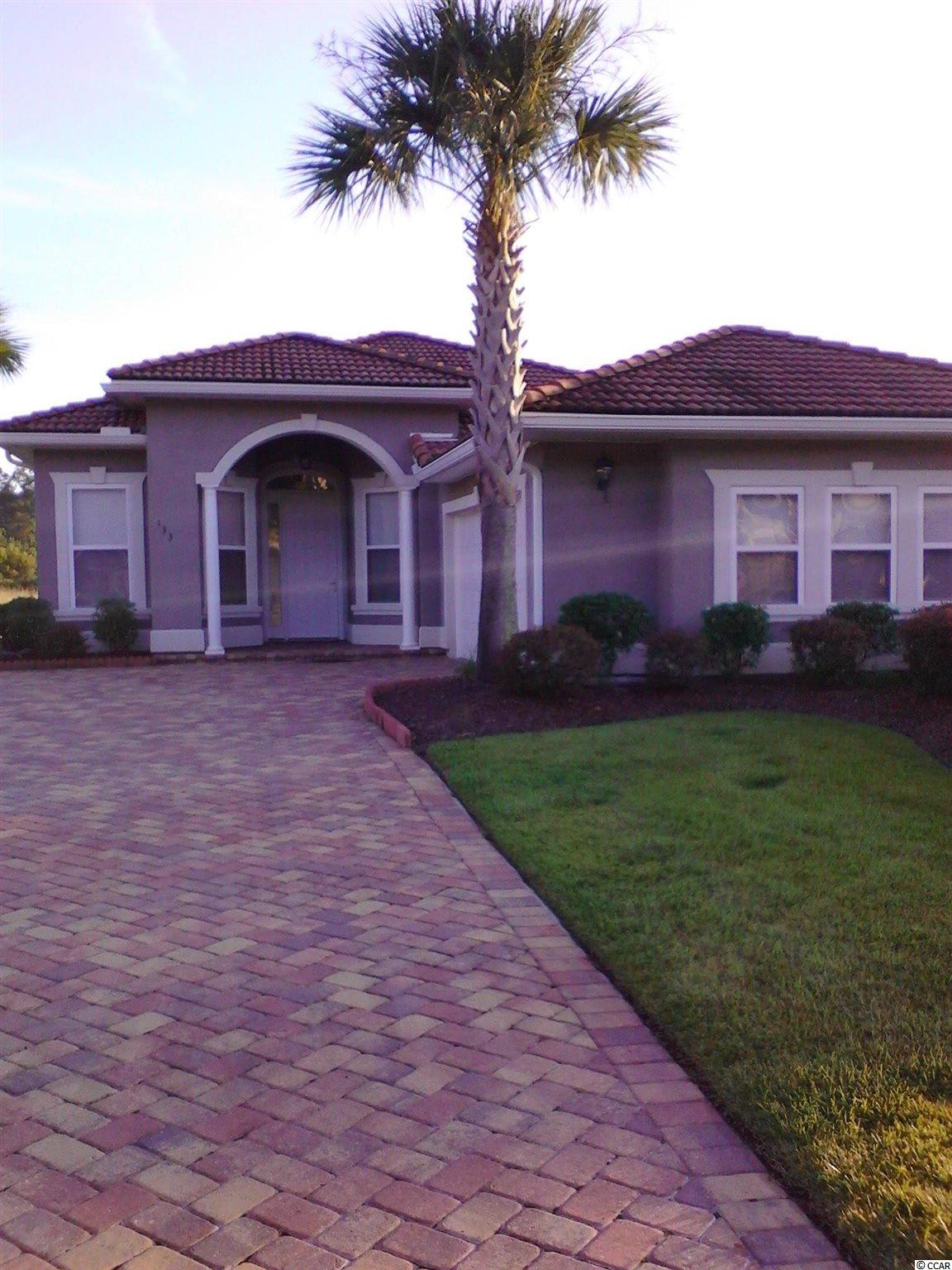 """WOW...Beautiful, Beautiful Upscale Mediterranean Style Home Completely Restored Like NEW, and Only 10-mins To Beach!! Get Ready To Write Your """"Highest & Best Offer""""...Will Sell Fast!! Home Features: * 12-feet High Ceilings with Recessed Lights and Open Concept Views From All Glass Doors Exit to Large Screen-in Porch and Privacy-Fenced Backyard! * Eat-in Tablespace Kitchen with Granite Breakfast Bar and Stainless Steel Appliances Ceramic Tile Floors-Baths and Foyer!! * Hurricane-Proof, Terracotta Tile Roof, Brick Paver Driveways & Sidewalks, Irrigation Sprinkler System with Rain Sensor and Timer Box, Lighted Palm Trees Thru out The Community! * Home has Spacious 3-bdm+2-baths, and 2-Car Garage w/Cable Setup (Ready for Man-Cave)!! * Private Exit Door to Master Bedroom Suite, Master Bath with Double-Bowl Sinks, Walk-in Closet, Elevated Toilet, and Ahhh.. """"Sit-down Shower""""!!! * NO SNOW, HAIL, ICE...Sooo Get Ready To Relax at the Beach!!"""