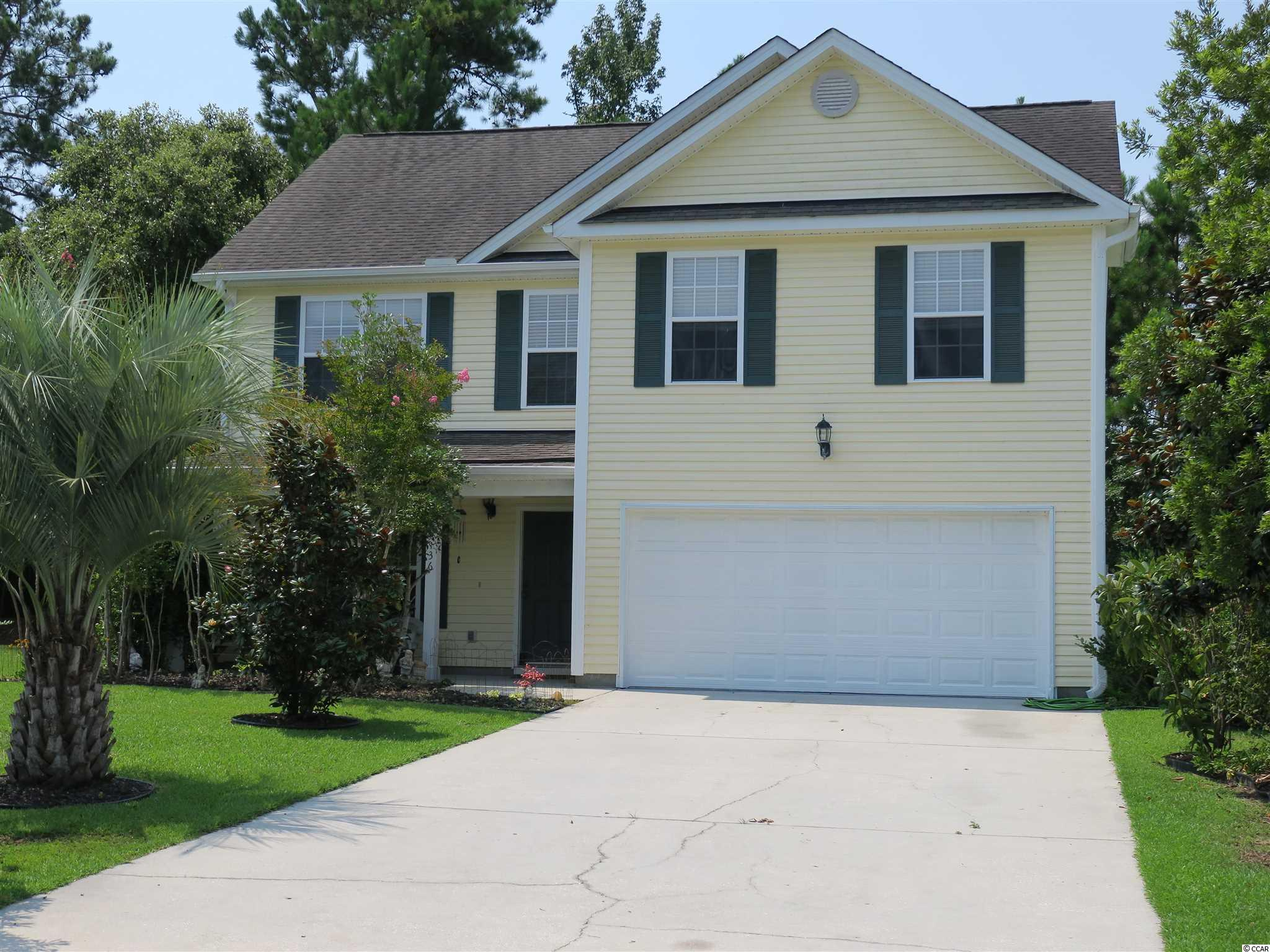 A very clean, well maintained spacious home located just minutes away from grocery stores, gas stations, restaurants, and of course the Marsh Walk and our beautiful beaches. All the renowned St. James Schools are within a few miles of this location and a quick trip to Myrtle Beach via hwy 707 & 31 make this location ideal for those who wish to enjoy all the Grand Strand has to offer. All four bedrooms are located on the second floor and are very spacious with ample closet space for all your things. The master has two walk in closets (his & hers) so there won't be any arguing over who's taking up most of the space. All the upstairs carpet is new and most of the walls throughout the home have been freshly painted. The garage is immaculate and can easily handle two cars. Please do yourself a favor and call for a personal viewing or reach out to your Real Estate Professional to schedule a viewing today.