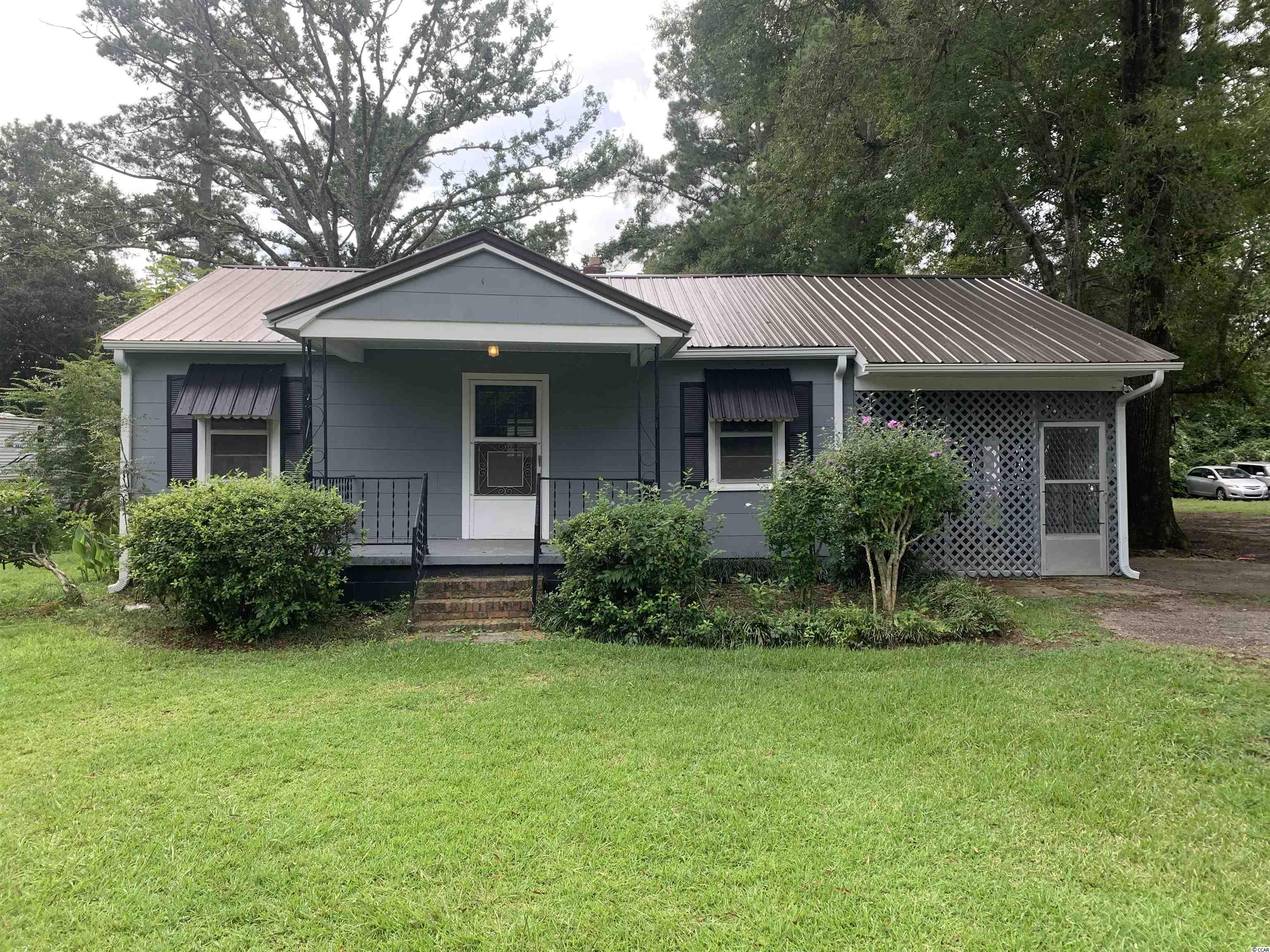 """Home is being sold """"AS IS""""  This home is move-in ready, resent repairs include: Newly stained floors, foundation repair, plumbing repaired, new/repaired duct work in crawl space, new paint on outside of home as well as new soffit, facial and gutter! Great Opportunity to own a home in the City of Conway!"""