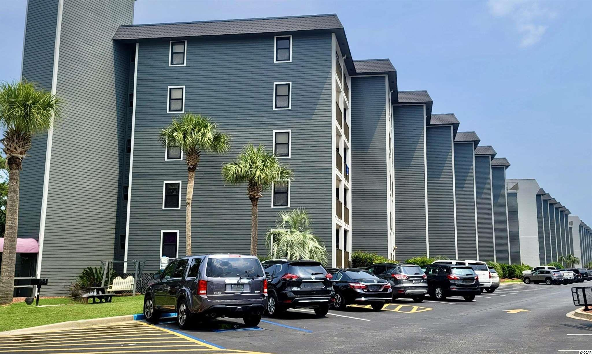 Great investment opportunity in Myrtle Beach Resort - this two bedroom two bathroom fully-furnished Oceanview condo has great rental income potential.  Completely turnkey and open plan layout between the kitchen, dining and living room areas.  This unit boasts many upgrades such as new HVAC, newer water heater, luxury cabinetry in the kitchen, granite countertops, updated lighting fixtures, luxury vinyl plank flooring in living areas. You can see the ocean and experience the morning sunrise right from the extended balcony. Myrtle Beach Resort is one of the well-known and busiest rental destination resorts in the Myrtle Beach area and includes access to private beach access, oceanfront pool, another large pool with lazy river and water features, Quarterdeck oceanfront bar and grill, tennis courts, games/arcade rooms, playground and walking trails!  You will not want to miss out on this amazing opportunity for steady rental investment income as well as a great vacation destination - schedule your showing today!