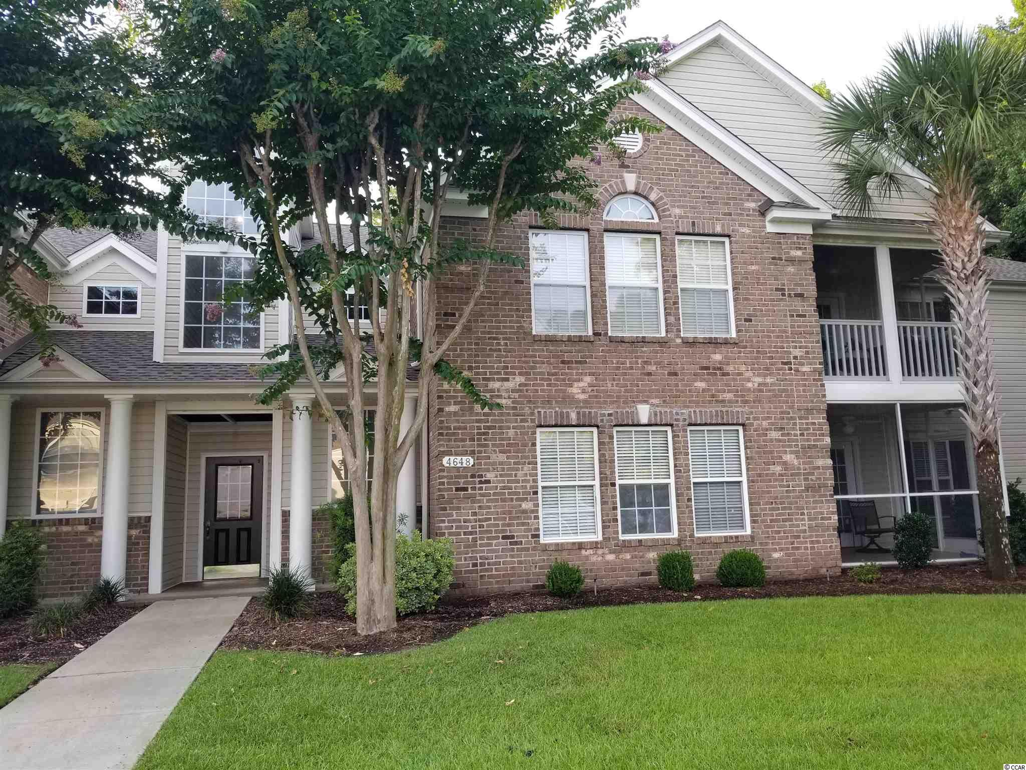A Immaculate 3 bedroom, 2 bath condo in the desirable gated Golf community of Winchester @ Wachesaw East.  Second floor condo with vaulted ceilings and no one above you!  All one floor living!  As you enter this condo you are greeted with spacious living room with vaulted ceiling along with plenty of natural light  There is a very large pantry/walk in storage area with new shelving.  New carpets, new paint, new lighting in the dining area, hallway and entrance way.  Screened in porch with new ceiling fan.  Master suite is very large with new fixtures in master bath.  Additional storage in attic above laundry room with new light fixture.  This condo has been gently used as a second home and very well maintained.  Amenities include two pools, tennis courts, basketball court.  Walking paths through the community.