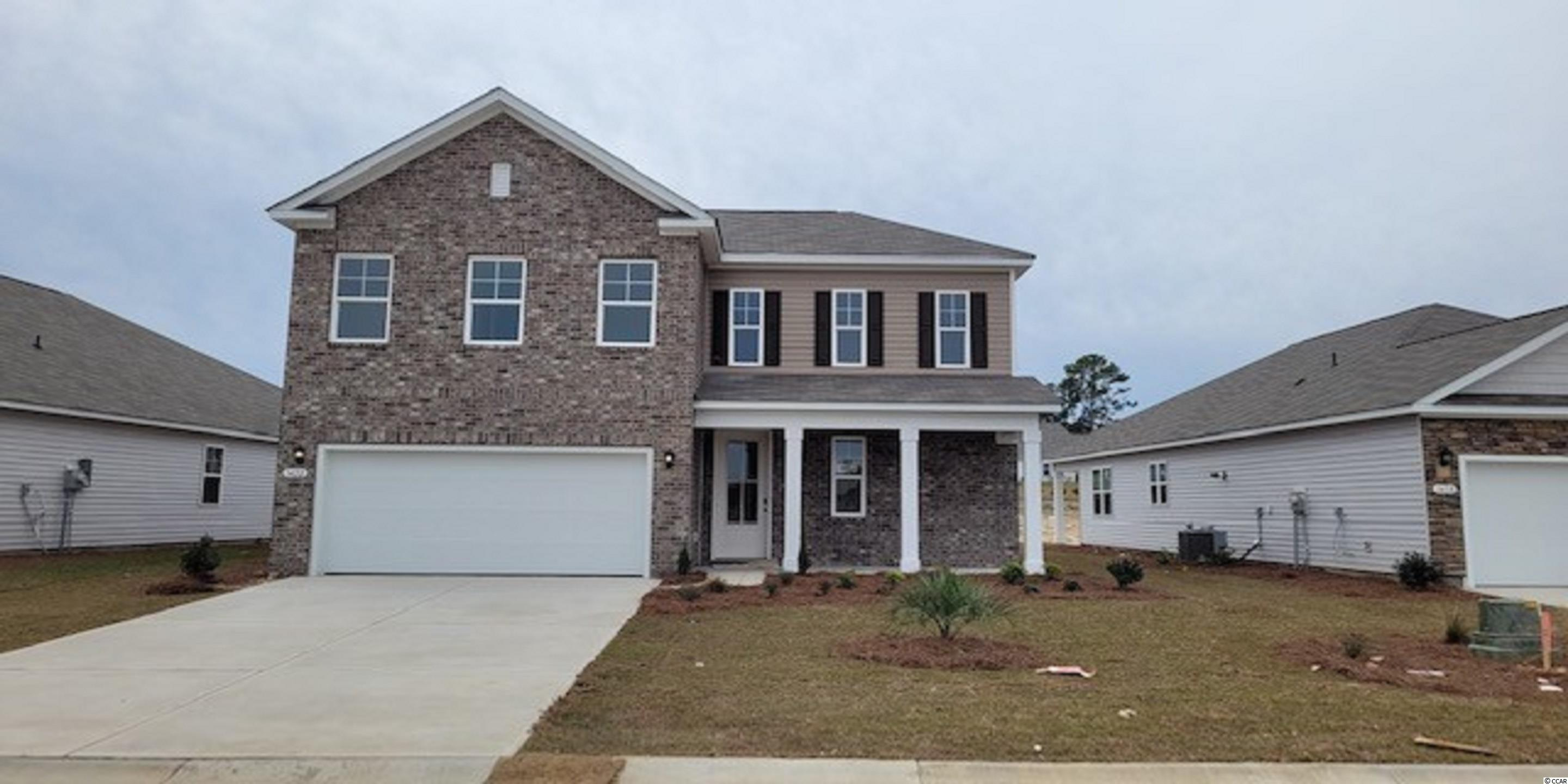 New phase now selling in Heather Glen! This two-story home is perfect for any stage of life offering the primary bedroom suite and laundry room on the first floor. Brick front elevation, inviting front porch, and 8 ft. entry door with glass. This home also features a spacious kitchen with white painted cabinetry, granite countertops, a large island with breakfast bar, walk-in pantry, and stainless Whirlpool appliances including a gas range. Beautiful wide plank laminate flooring flows through the foyer, kitchen, living room, and dining room with tile in the bathrooms and laundry room.  Three nicely sized bedrooms and a versatile loft space are upstairs! This home will feature a large rear screen porch. It gets better- this is America's Smart Home! Ask an agent today about our industry leading smart home technology package that is included in all of our new homes. Heather Glen is a brand new natural gas community where homeowners will enjoy a large clubhouse with sprawling verandas, impressive swimming pool, conditioned fitness center, fenced dog park, playground area, and blueberry garden!  *Photos and virtual tour are of a similar Belfort home.  (Home and community information, including pricing, included features, terms, availability and amenities, are subject to change prior to sale at any time without notice or obligation. Square footages are approximate. Pictures, photographs, colors, features, and sizes are for illustration purposes only and will vary from the homes as built. Equal housing opportunity builder.)