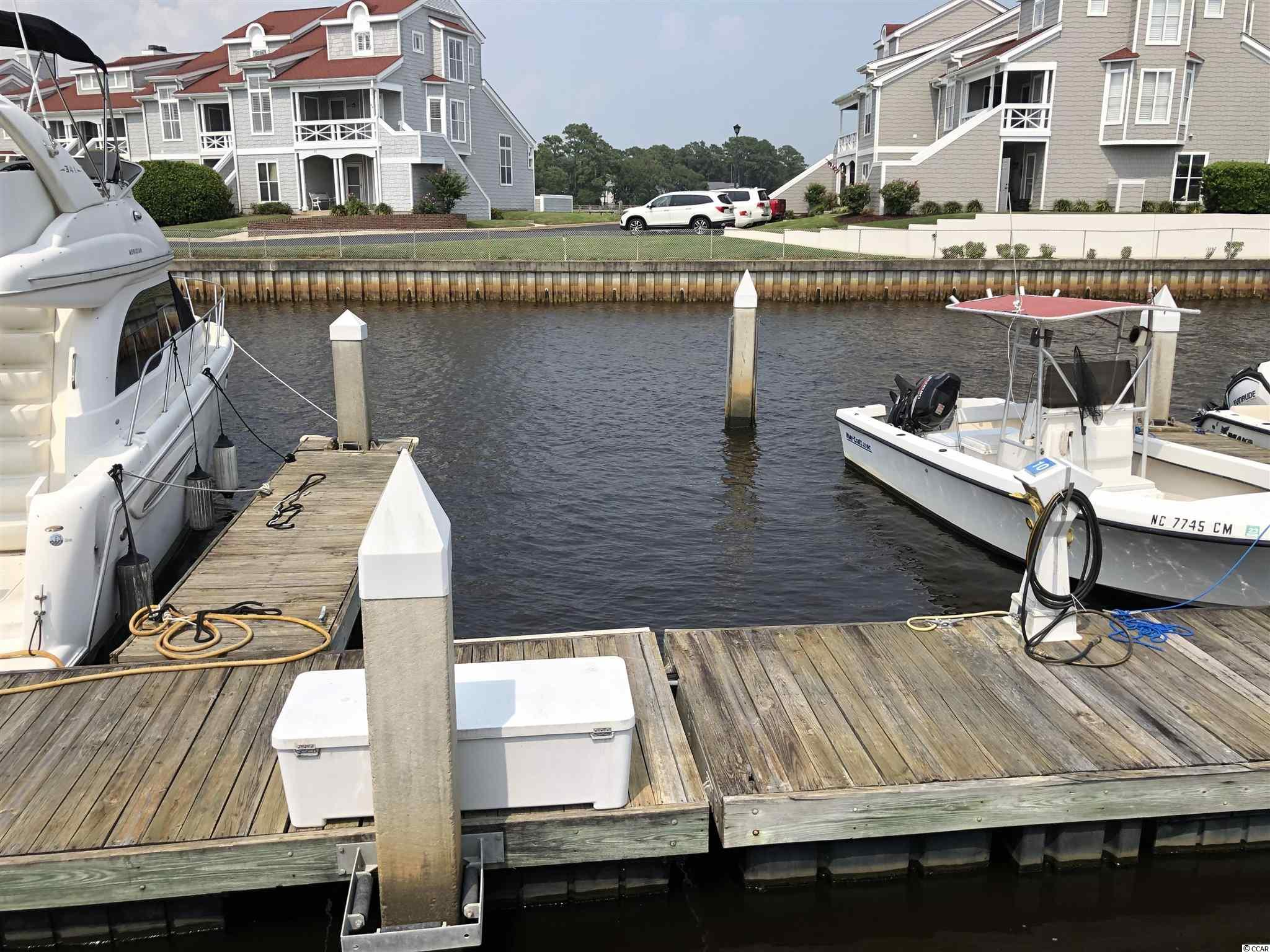 Looking for a 32-foot boat slip?  This is the perfect location at Mariners Pointe in Little River easy access to the ICW and a few miles to the ocean.