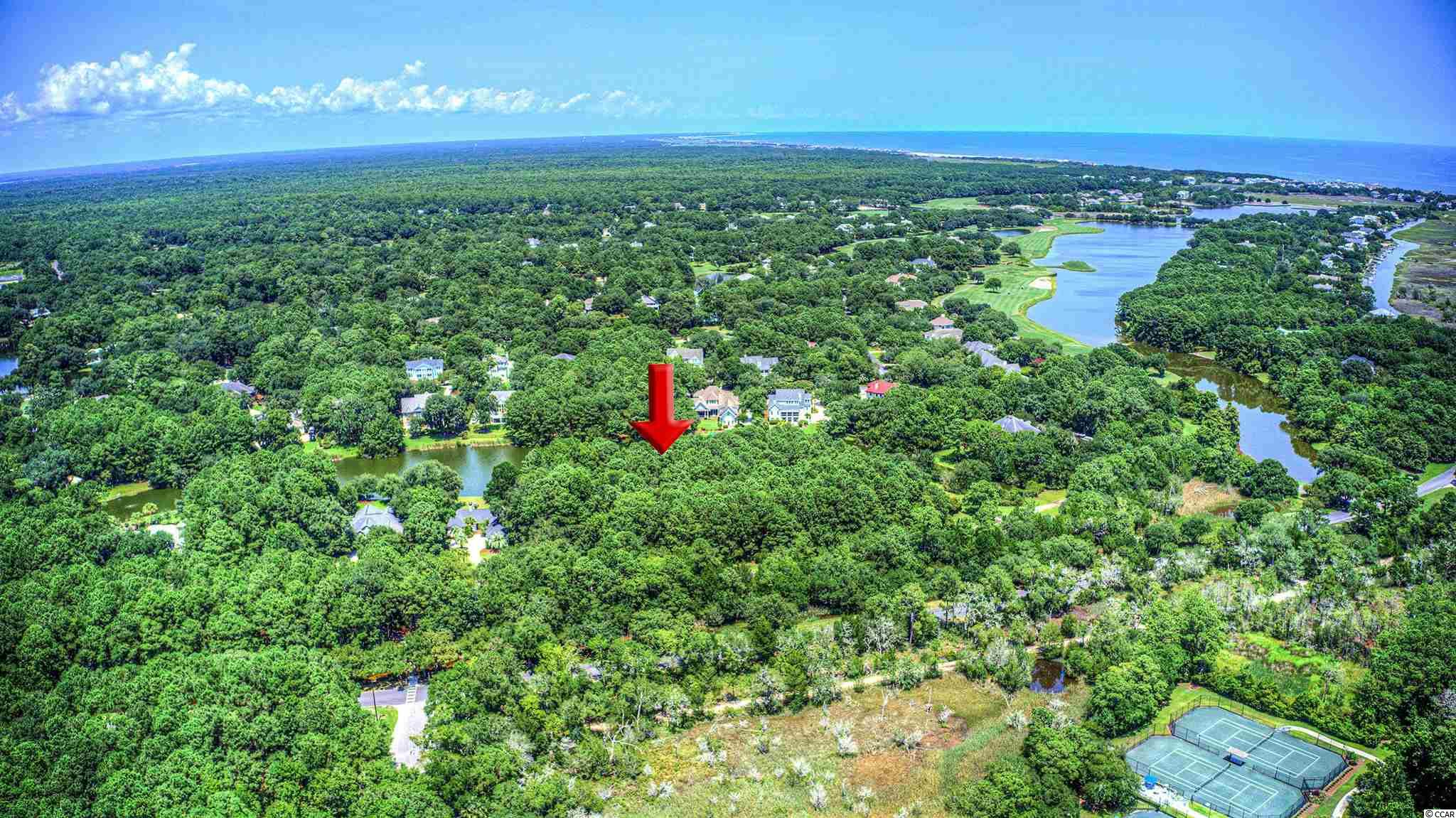 This lakefront lot boasts over 1/2 an acre and with almost 100 ft of lake frontage. The lot is located just a stones throw from the tennis center, world class golf, miles of pristine shoreline, beach club, and the saltwater estuary of North Inlet. For a coastal outdoorsman, there is nothing that you could want that Debordieu doesn't offer.