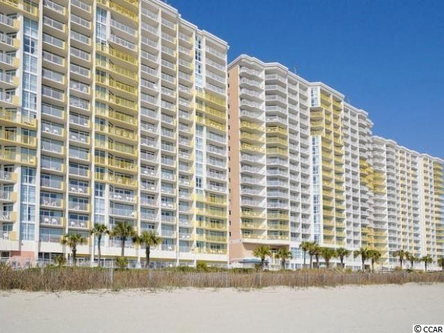 Oceanfront 1 Bedroom condo in the popular Baywatch Resort in North Myrtle Beach- Amenities Include- indoor/outdoor pools, lazy rivers, spas/hot-tubs, fitness center, pool-side tiki bar, on-site restaurant, sports bar, gift shop, and much more!! This lovely 10th floor beachfront condo offers stunning high rise ocean front views, and comes completely furnished. Features also include- fully equipped kitchen, spacious living-room with murphy bed, large oceanfront balcony, and tile/laminate-wood flooring throughout. This unit is a turn key premium investment that rents consistently all year. Schedule your showing today.