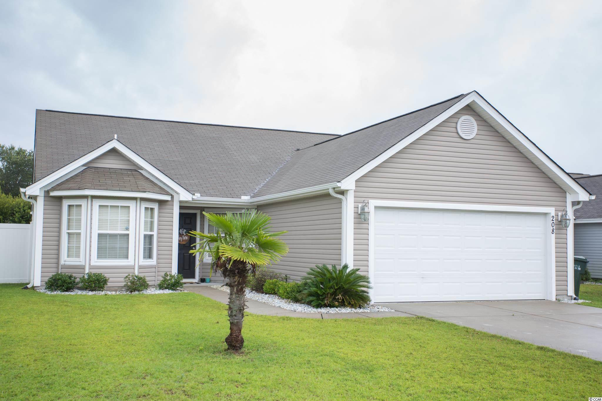 Popular Beazer Monticello floorplan.  3 bedrooms, 2 full baths, tile and carpet.  Vaulted ceilings in the Living Room and Master Suite.  Master features his and her closets.  Master bath with Jacuzzi tub and separate shower.  All appliances convey with the exception of the washer and dryer.  Fantastic Carolina Forest location close to all amenities, dining, shopping, beaches, golf and the popular Market Commons.