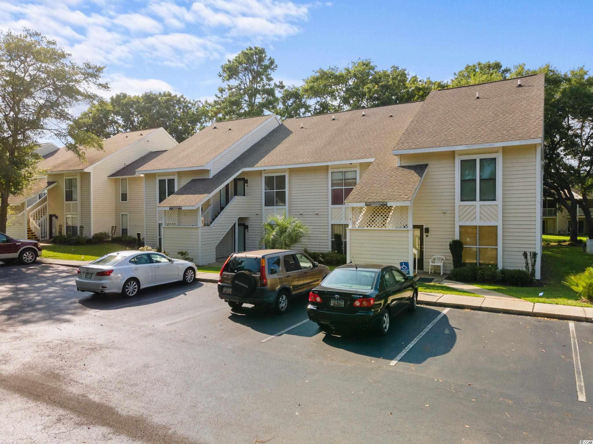 No steps to climb!! Check out this well appointed, first level one bedroom, one bath condo located in the Little River Golf and Health Resort.  Located close to all the village of Little River has to offer, like great waterfront restaurants, entertainment, fishing, the waterway, and just minutes to all of the wonderful North Myrtle Beach oceanfront as well as Hwy 31 and the new NMB Sports Complex.   Currently used as an annual rental, this unit makes a great income producing property with the low HOA fees....or keep this as your inexpensive beach getaway! Make your appointment to view this condo today.