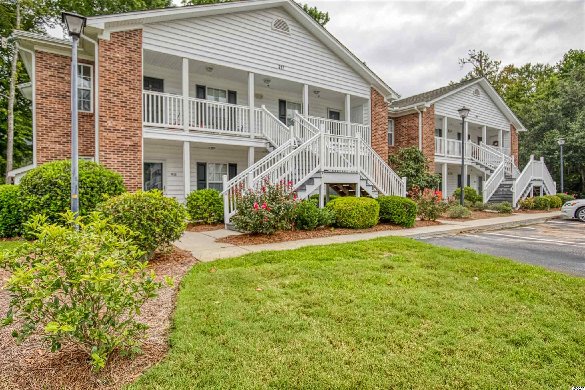 Don't miss your opportunity to buy in this Highly desired East of Hwy. 17 Location. Egret Run is a quiet little tucked in Community close and  convenient to everything; Restaurants, shopping, short drive to Charleston and just minutes to the beautiful Pawleys Beach! This is an Immaculate Turn Key 2 Br Full Two Bath 2nd Floor Condo located in the back of the Community with privacy and lots of upgrades. You'll enjoy Sunrise views as you sip on a cup of Coffee from the front porch! Step into the condo and you find an updated Kitchen with Solid Surface Countertops, Oversized Tile Flooring, Double Stainless Sink, and White Appliances. User friendly Laundry area is behind the Kitchen and Washer and Dryer convey. The AC Unit was installed June of 2020.  You'll appreciate the Open Split floor plan with Nice sized BR's separated by the Guest Bath, Fabulous Eat-in Kitchen area and Spacious Living Room with Hardwood Floors & Crown Molding. Most all of the Dining Room and Living Furniture, Window Treatments and more will stay including the Big Screen TV ! The Master BR has it's own On Suite Bath and there is a Pull Down Attic for extra storage. There is also a nice Storage Room outside the front door for all your Beach items & more. The community boasts a very nice pool that is Card operated for Owners and Guests & your Monthly regime fee covers Trash Pick-up, Water, Pest Control, Exterior Insurance, Basic Cable and Lawn Care. Moving in could not be easier! Pet Friendly Community & would make a great Permanent Residence, Second Home, or Investment Property! This one wont last long so don't delay and start living the Pawleys Island Lifestyle today!