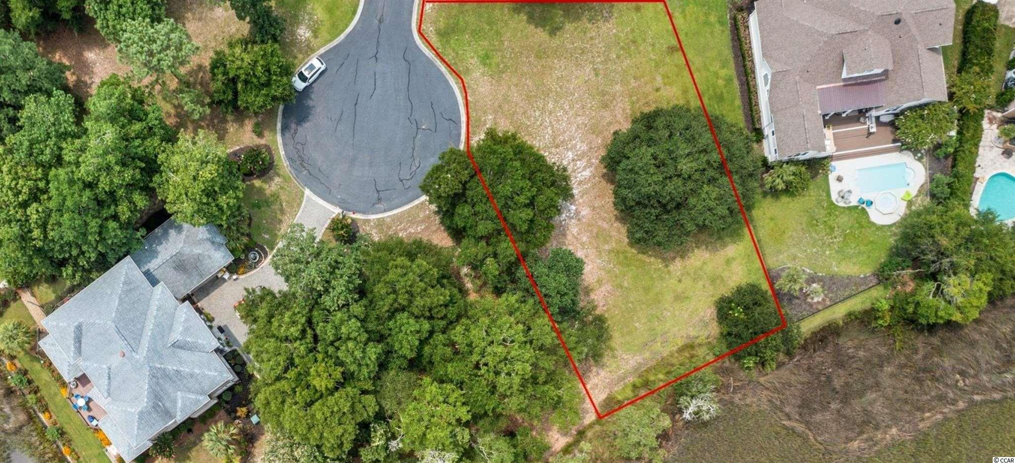 Outstanding views of the Mullet Creek and neighborhood access to Intercoastal Waterway!!!If you are looking for privacy and exclusivity, this is the Lot for you. This gorgeous lot is on cul-de-suc with stunning marsh views in the Intercoastal Waterway Neighborhood.Your feature homesite is a large lot that allows to build various home plans . Big Landing Plantation is tucked away from the hustle and bustle but still just minutes away from beaches of the  North and South Carolina and a direct access to the Intercoastal waterway .The community also has a very nice clubhouse with a pool and picnic area for all to enjoy. Big Landing is a gated community with your security and privacy with a large pier in the Intracoastal Waterway with two boat docks ,low HOA fees, abundant wildlife, quiet beauty, and fantastic marsh views from every direction .There are jaw dropping views all throughout the community. You can build your dream home and be close to many restaurants, golf, shopping, and of course the beach. Big Landing Plantation encourages designs that reflects:  Unique, romantic and quality residential appearances ,the creative use of natural topography   Don't let this desirable beauty slip away. This lot is a must see.