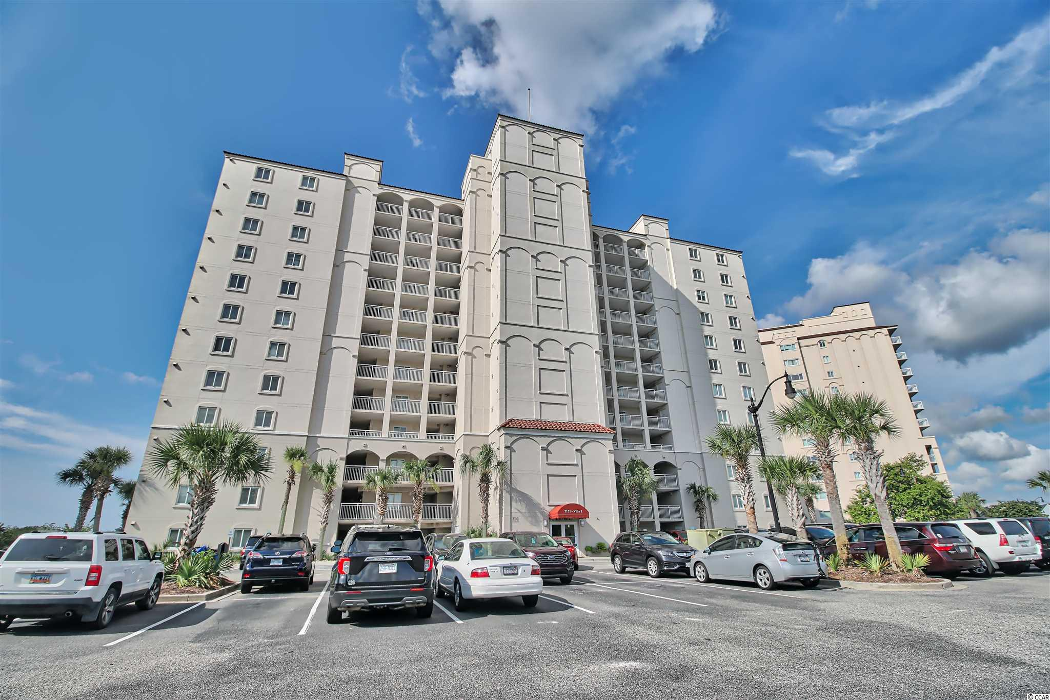Gorgeous 8th floor, three bedroom and three full bath villa located in the very sought after Barefoot Resort Yacht Club Villa I.  This home is beautifully decorated and ready for your enjoyment.  This villa has three lockout units which can be rented separately or use the entire unit as a primary home as the current sellers do.  Great rental potential.  Awesome views of the intracoastal waterway, Barefoot Marina, 15,000 sq. ft. pool and Barefoot Landing from your two balconies.  All appliances in kitchen are brand new including dishwasher, range, microwave and refrigerator.  Full-size, stackable GE washer & dryer are two years.  All three HVAC units were replaced 7 years ago.  This villa is being sold totally furnished and with a fully equipped kitchen.