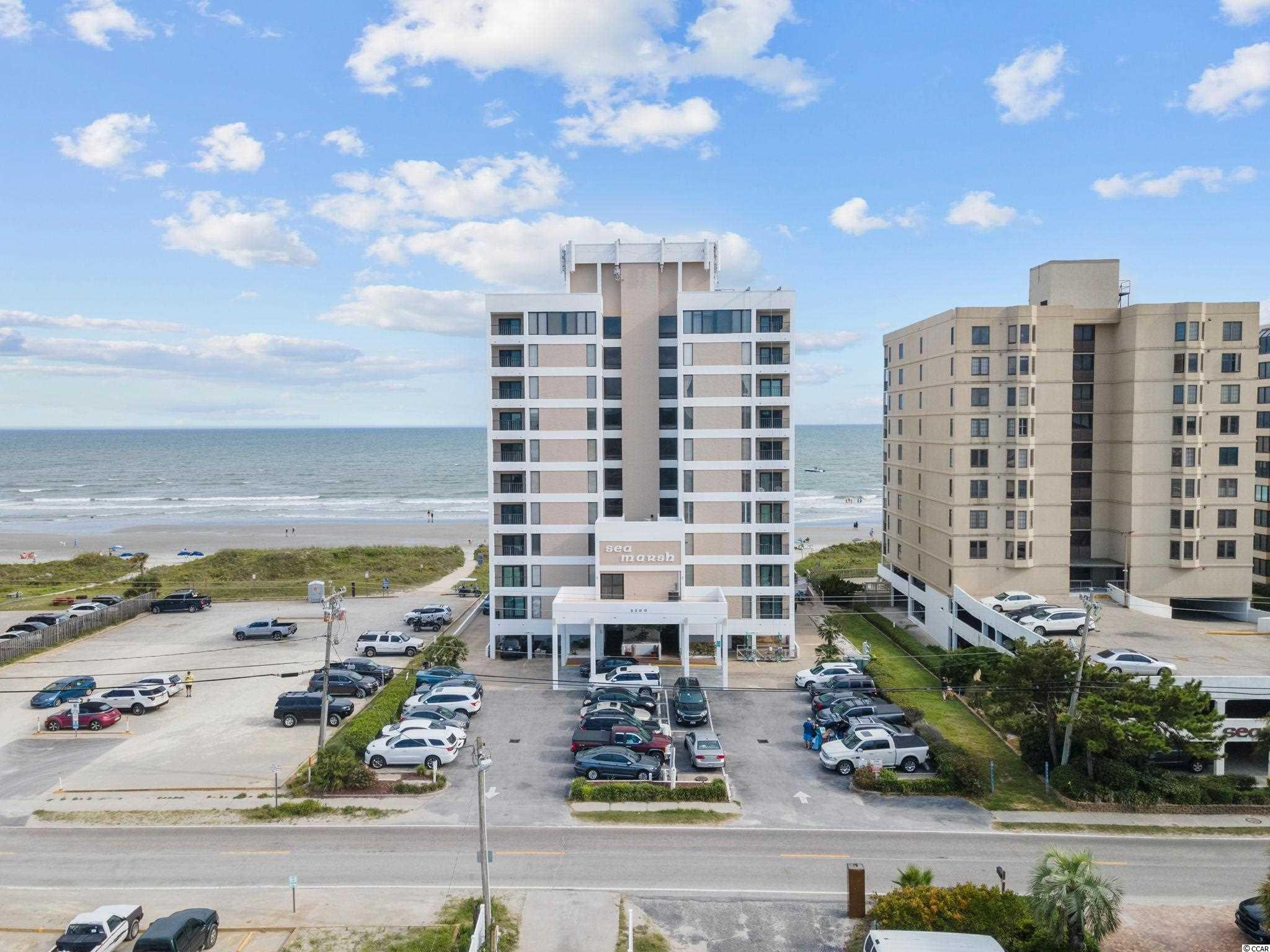 Here is your chance to own a little slice of Heaven at the beach. This top floor penthouse unit, located in Sea Marsh 1 has breathtaking views. This 3 bed 3 Bath unit has it all, new LPV flooring throughout, new paint, appliances, and more! Sea Marsh 1 offers an oceanfront pool and ample parking. You can easily access the Cherry Grove Channel from the boat ramp in the second parking lot across the street. Enjoy a short walk to the Cherry Grove point and the Heritage Shores Nature Preserve. Now is your opportunity, don't miss it. Schedule your showing today!