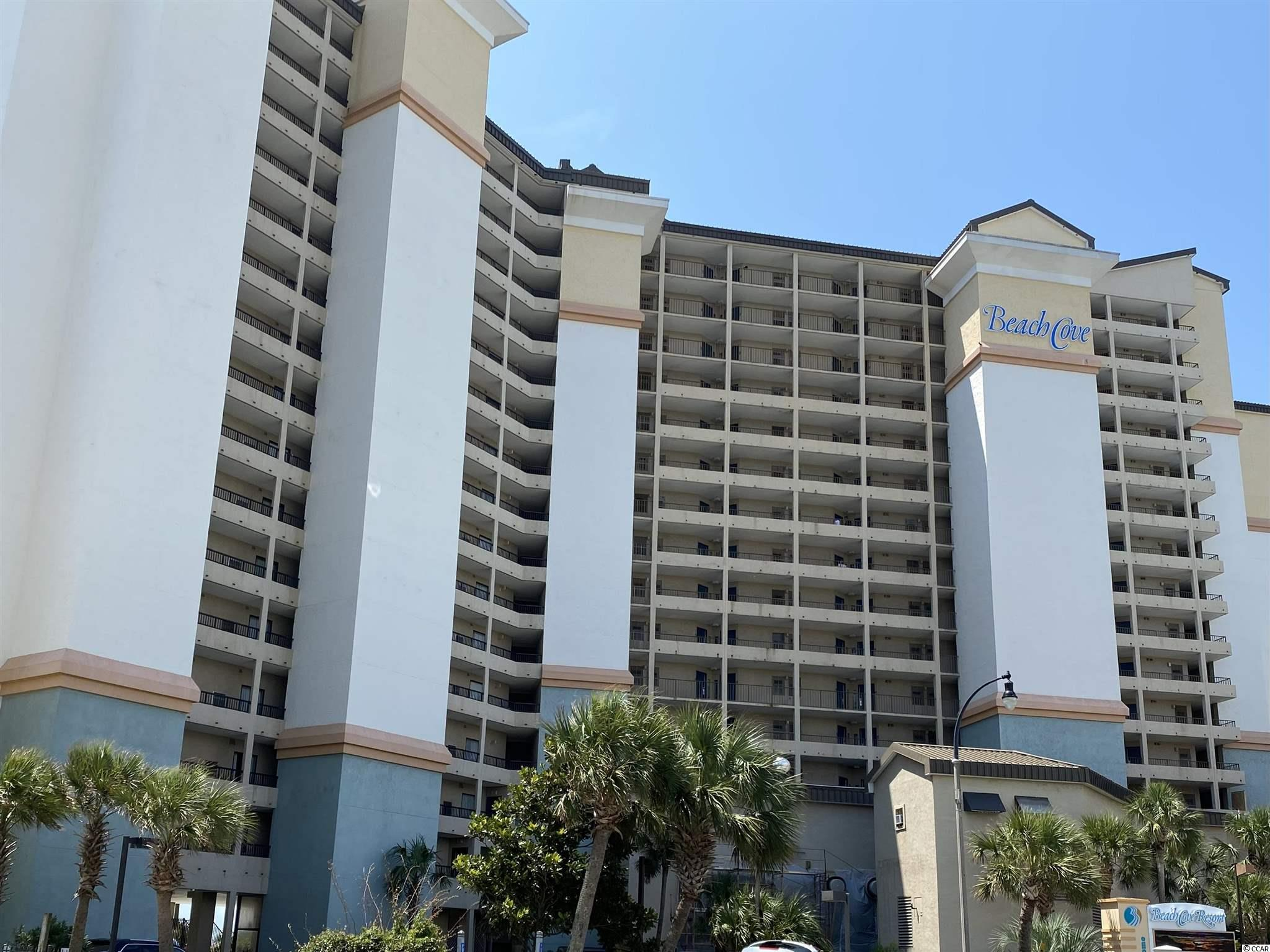Excellent opportunity in a fully upgraded unit on the 3rd floor. This is the only floor with no step down from hall to living area and you can park on the 3rd level and come straight in without going through lobby and taking elevator. This is one of the best units available and you won't want to miss it. So many amenities at Beach Cove... exercise room, indoor and 3 outdoor pools, 350ft lazy river, arcade area, bar and snack area, restaurant, racketball court and more.