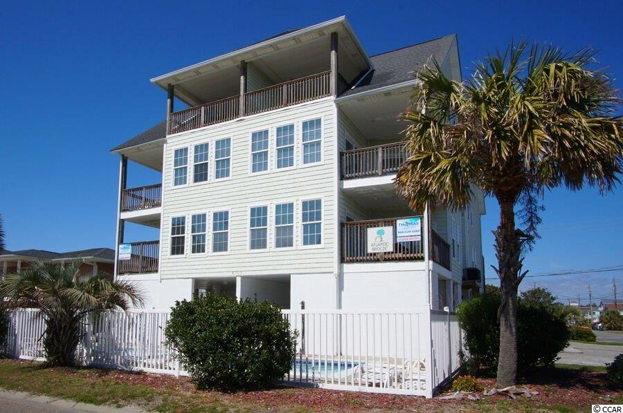If you are looking for an Investment Rental Machine look no further...... Allow me to introduce to you Atlantic Breeze A&B! Located on the second row , across the street from the beach in the family friendly Cherry Grove section of North Myrtle Beach .This raised beach duplex  boasts a total of 16 bedroom, 16 full baths,  2 private elevators, 2 private pools and each side has fully equipped kitchens with 2 refrigerators, breakfast bar , stainless appliances and dining for 20 people!  Each side   features 8 bedrooms, 8 full baths, game room with pool table and foosball table, covered porches with ocean views in the front and covered porches with channel views in the back. Home has a strong rental history and repeat guests.  Don't miss out on this amazing opportunity as it won't last long!