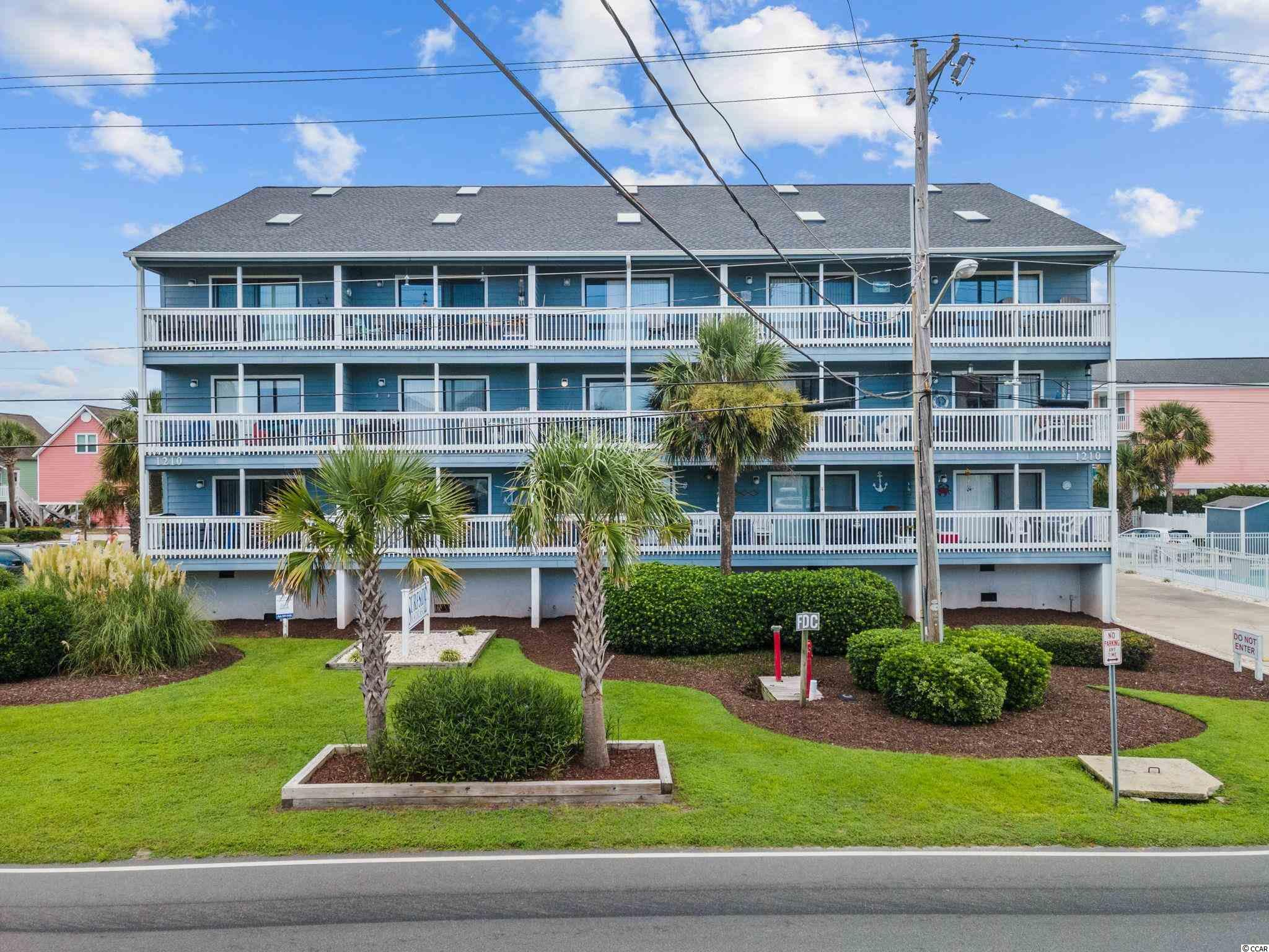 This furnished, 2 Bedroom, Condominium is located on Ocean Blvd in Surfside Beach.  With beach access directly across the street from the property, you can enjoy the beach without a long commute.  The unit has been beautifully furnished by the owners. Never rented, the condominium features stainless steel appliances, granite countertops in both the kitchen and bathroom, new dishwasher and water heater installed in the past year. The unit is located on the first floor with just 10 steps to navigate. From your private balcony you have a view of the Ocean. Enjoy the sounds of the ocean as you view the sunrise.