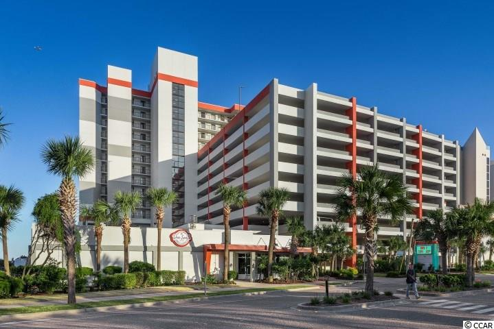 ENJOY THE OCEAN FRONT VIEWS FROM THE MASTER BEDROOM AND LIVING ROOM BALCONY OF YOUR 10TH FLOOR 3 BED / 2 BATH UNIT. WASHER/DRYER IN UNIT AND COVERED PARKING ATTACHED TO THE RESORT. AMENITIES GALORE INCLUDING: GIFT SHOP, FITNESS ROOM, ARCADE, STARBUCKS, CONFERENCE ROOMS, RESTAURANT, AND THE RESORT HAS ITS VERY OWN OCEAN FRONT POOL. POOL AREA AMENITIES INCLUDE: OUTDOOR POOL/INDOOR POOLS, WHIRLPOOLS, LAZY RIVER, AND CHILDREN'S WATER PARK. CLOSE TO ALL MYRTLE BEACH HAS TO OFFER, WALK TO RESTAURANTS, ENTERTAINMENT, AND SHOPPING. DON'T MISS OUT ON THIS GREAT OPPORTUNITY!