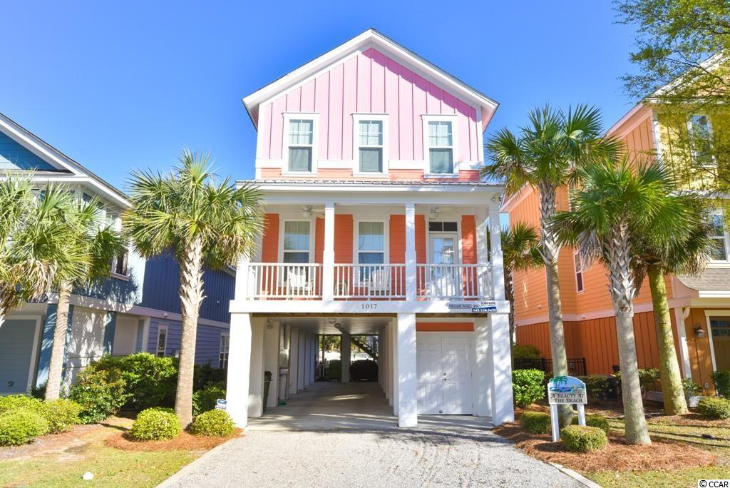 This beautiful 4 bedroom/ 3.5 bath beach house is located in the family friendly, popular Surfside Beach!  This property features a professionally maintained heated salt water private pool, under house covered storage/garage area, additional half bath outside, 2 covered porches and has been very well maintained. It is perfect for a primary residence, investment property, or 2nd home. It has a very strong rental history. This turn key property comes fully furnished!  This is a MUST SEE!