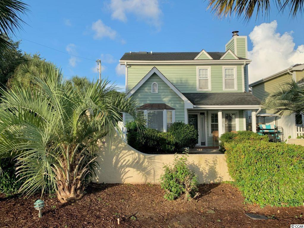 This 3 bedroom, 2 bath patio home is conveniently located to shopping, restaurants, bars and the beach.  The fenced-in outdoor space is a perfect setting for outdoor entertaining.  The neighborhood pool is just a short walk behind the home. The updated interior boasts a cute kitchen with granite countertops, a beautiful backsplash, stainless steel appliances, and a pantry closet.  The oversized master bedroom is on the first floor with a large walk-in closet.  The updated master bathroom has lots of storage and a large stand-up shower.  The second bathroom has beautiful new tile floors, new paint, and a clean tub/shower combo.  Must see to appreciate.
