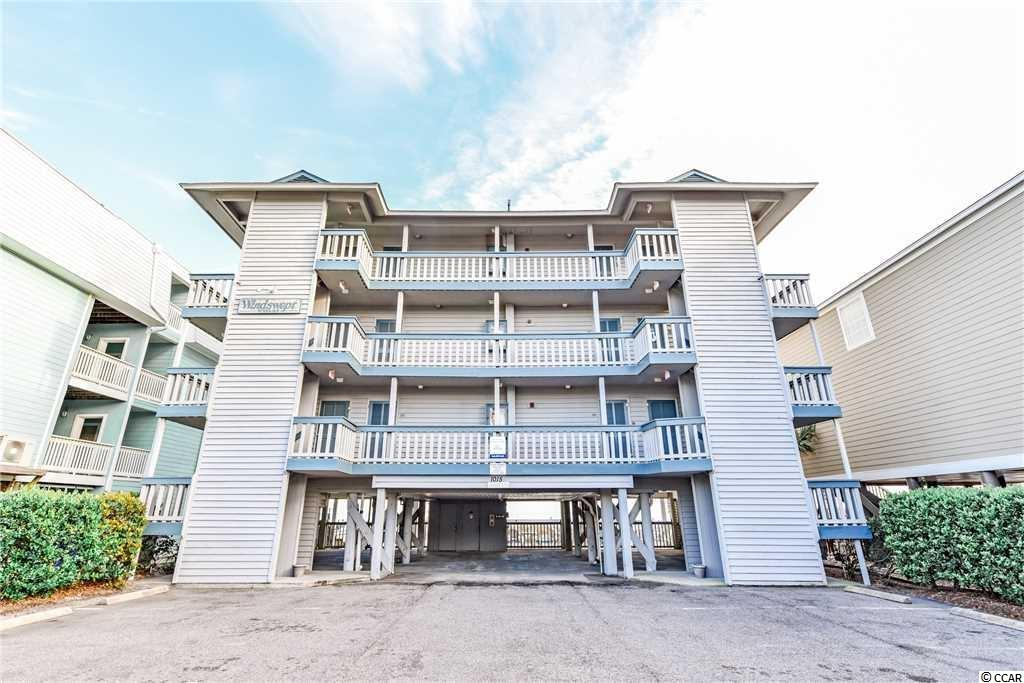 Your chance to OWN a Direct oceanfront, FIRST floor, end unit in Surfside Beach! Wide open floorplan in this studio type condo. Full kitchen and full bath! Gorgeous oceanfront pool! Selling furnished. New stainless steel refrigerator. Trex flooring on balcony/porch. Turn key! Bedspread and shower curtain may be different than these photos as the owner has changed. Wooden rocker in living area does NOT convey. Good rental potential or just use as a second home!
