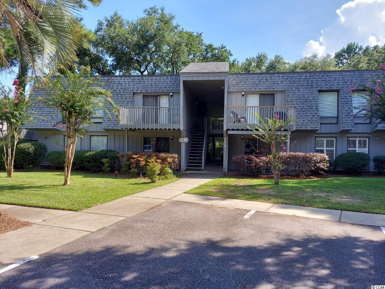 This 2nd floor unit! 2 Bedrooms, 1.5 Baths. Selling furnished! Living area has glass door to the sundeck. Jack & Jill bath, with tub/shower combination. Salt Marsh Cove is conveniently located at Litchfield, 5 minutes to the beach and close to restaurants, shopping, grocery stores, golf courses. Community pool, creek dock, boat parking.